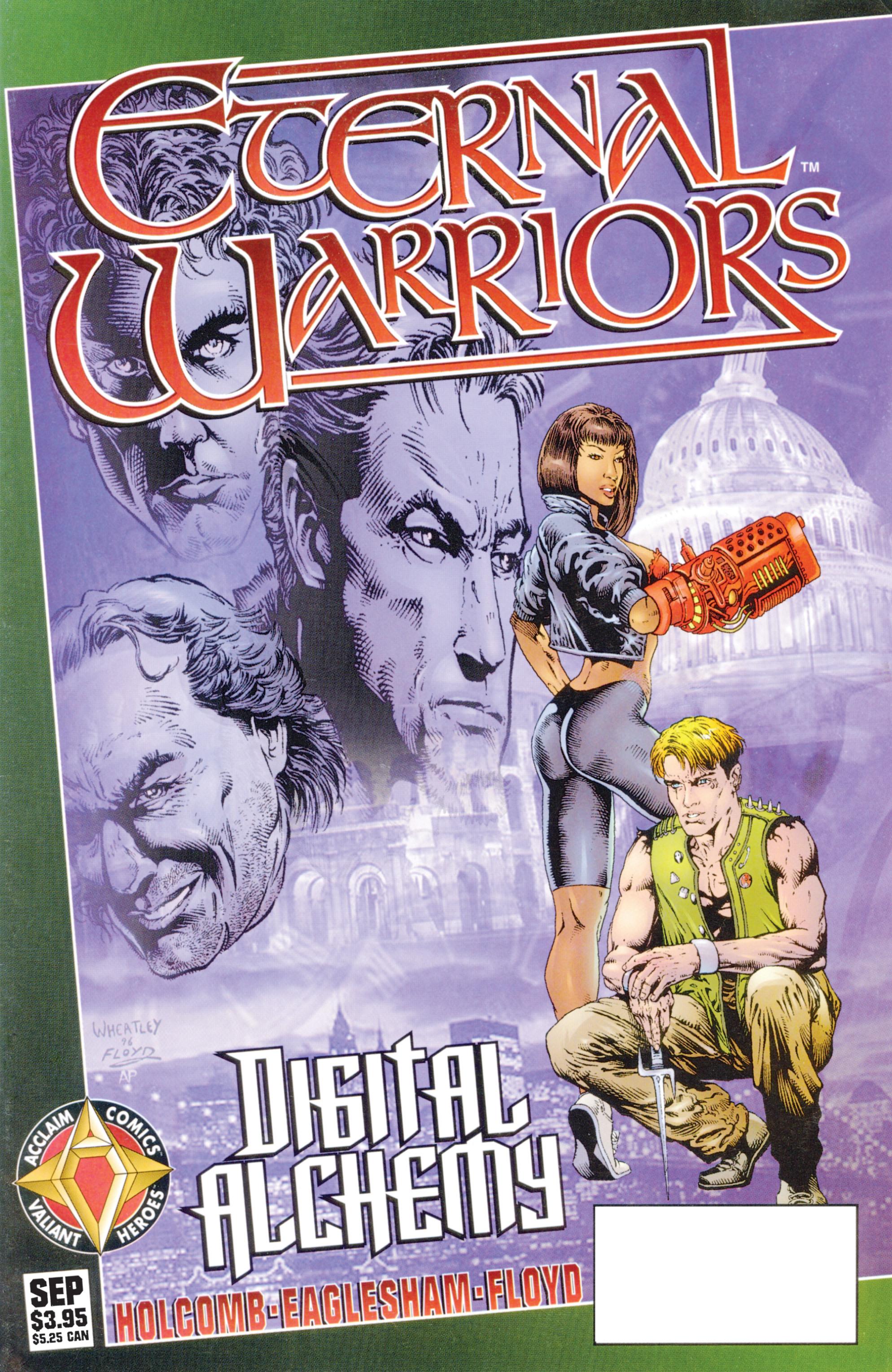 Read online Eternal Warriors comic -  Issue # Issue Digital Alchemy - 1