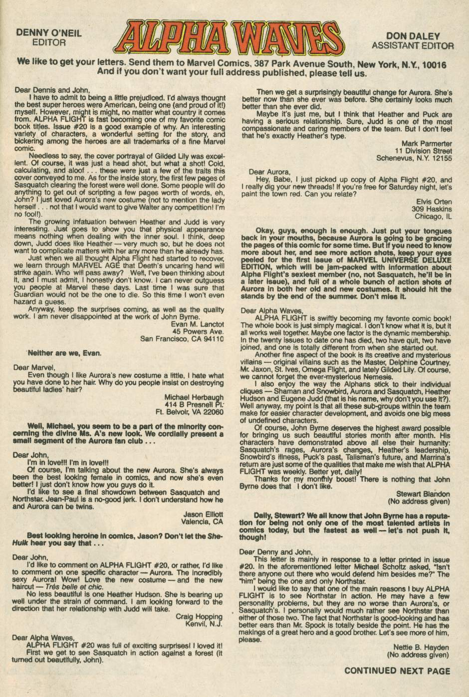 Read online Alpha Flight (1983) comic -  Issue #24 - 39