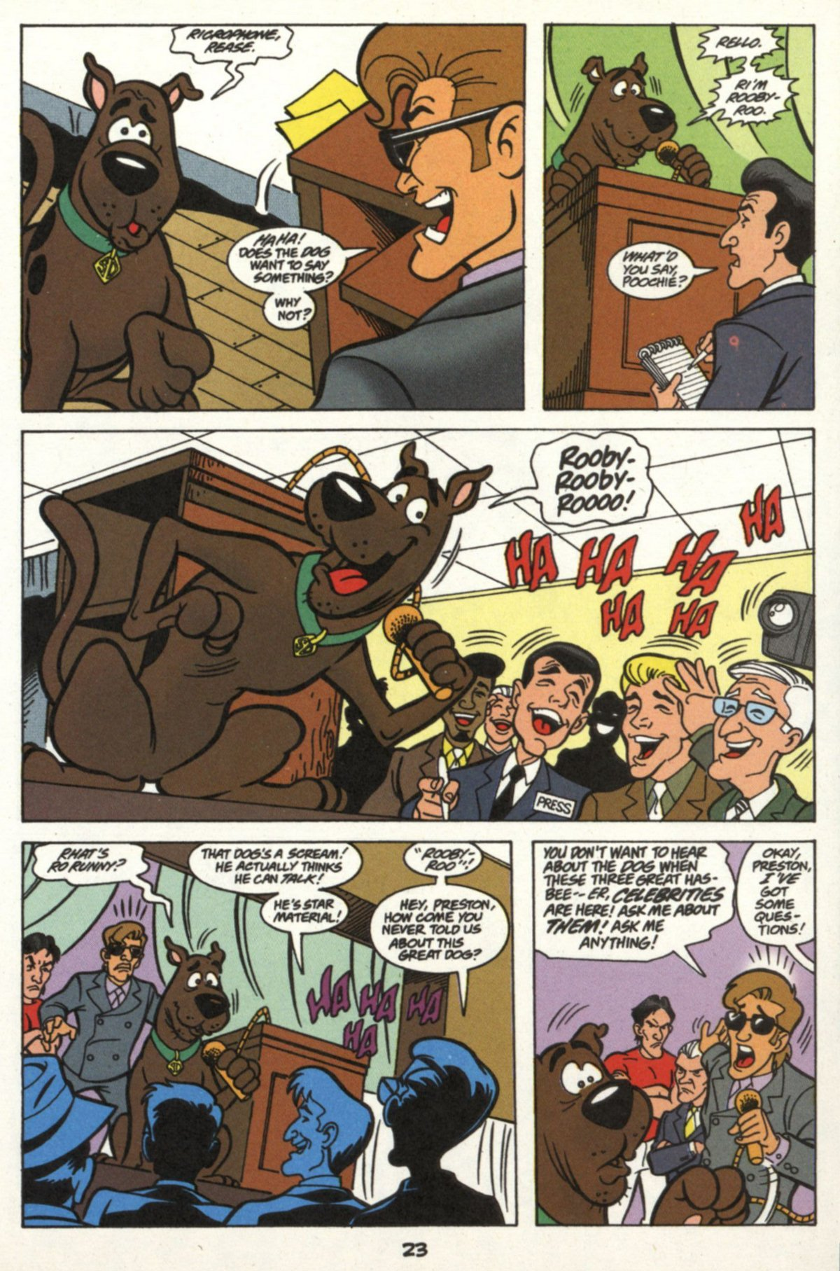 Read online Scooby-Doo (1997) comic -  Issue #16 - 22