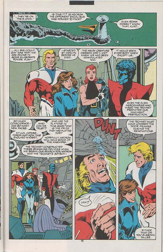 Excalibur (1988) issue 49 - Page 12