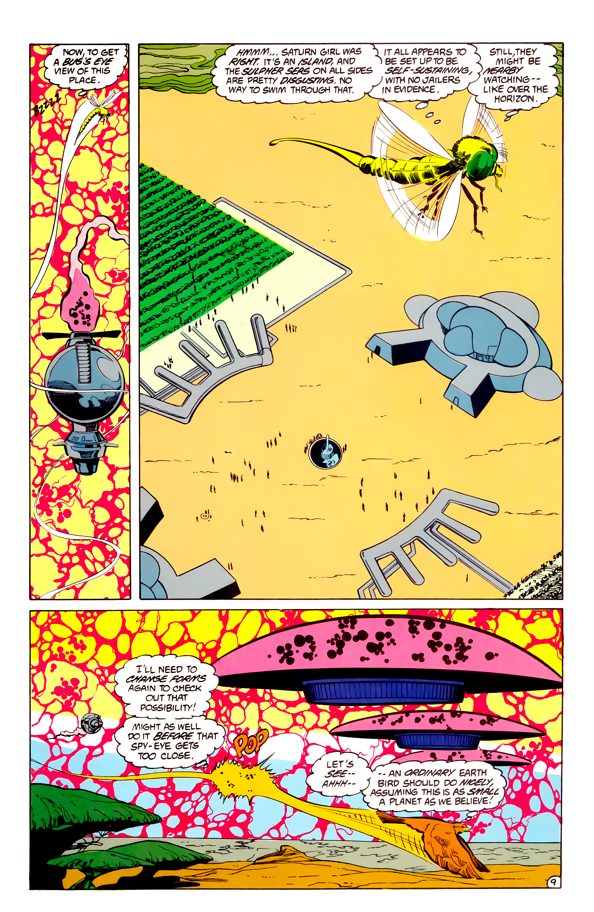 Legion of Super-Heroes (1984) 33 Page 9