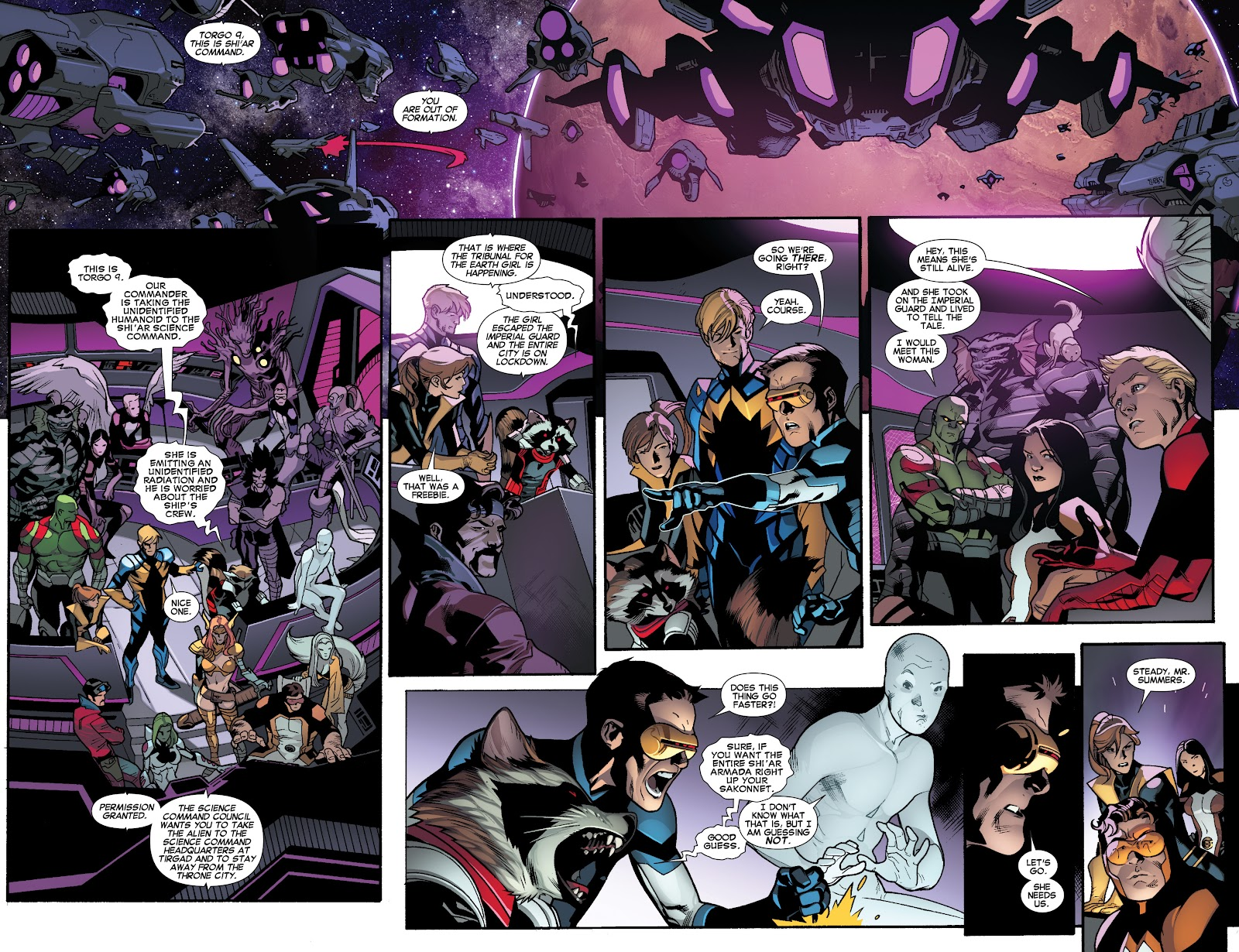 Guardians of the Galaxy/All-New X-Men: The Trial of Jean Grey issue TPB - Page 89