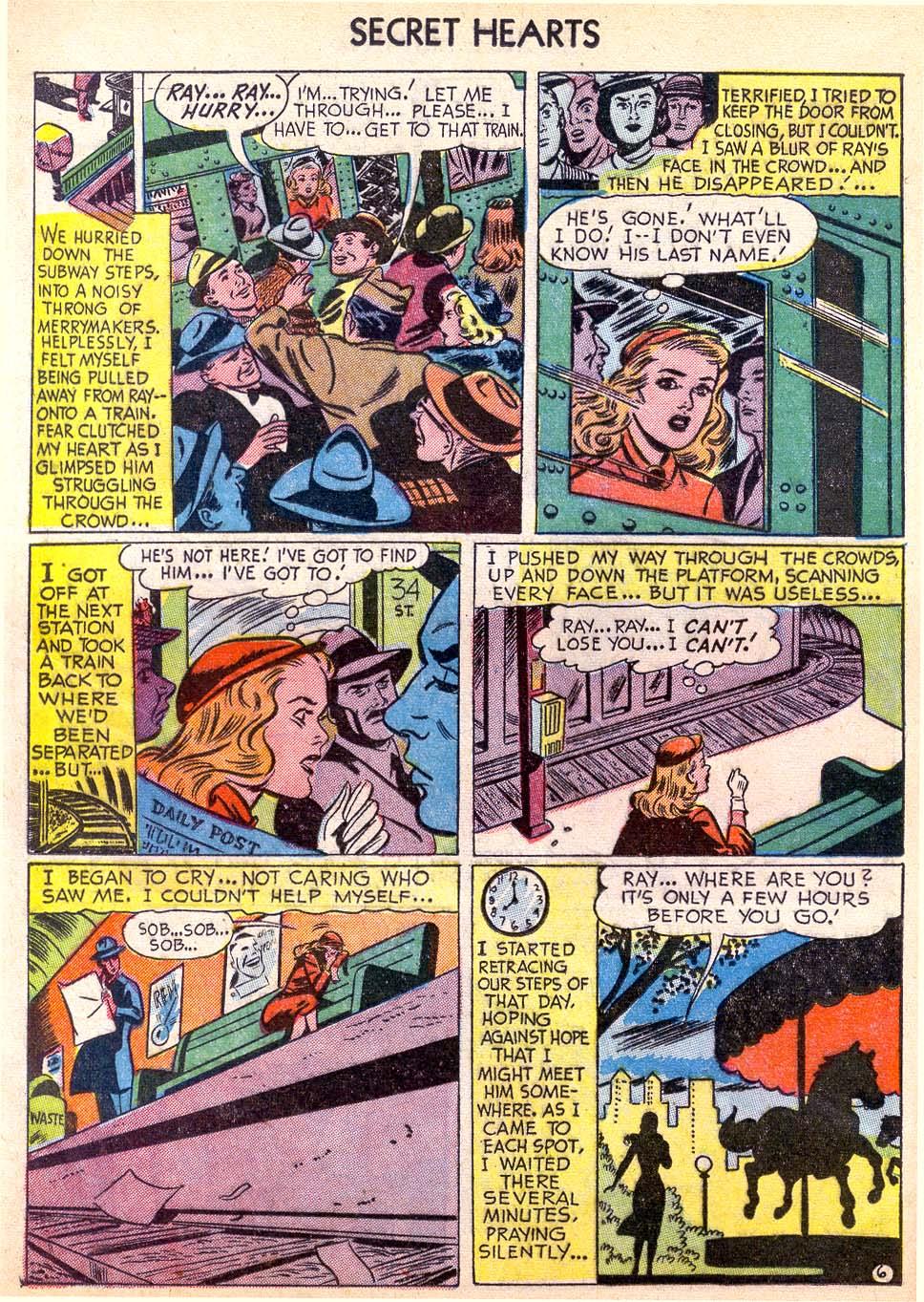 Read online Secret Hearts comic -  Issue #11 - 24