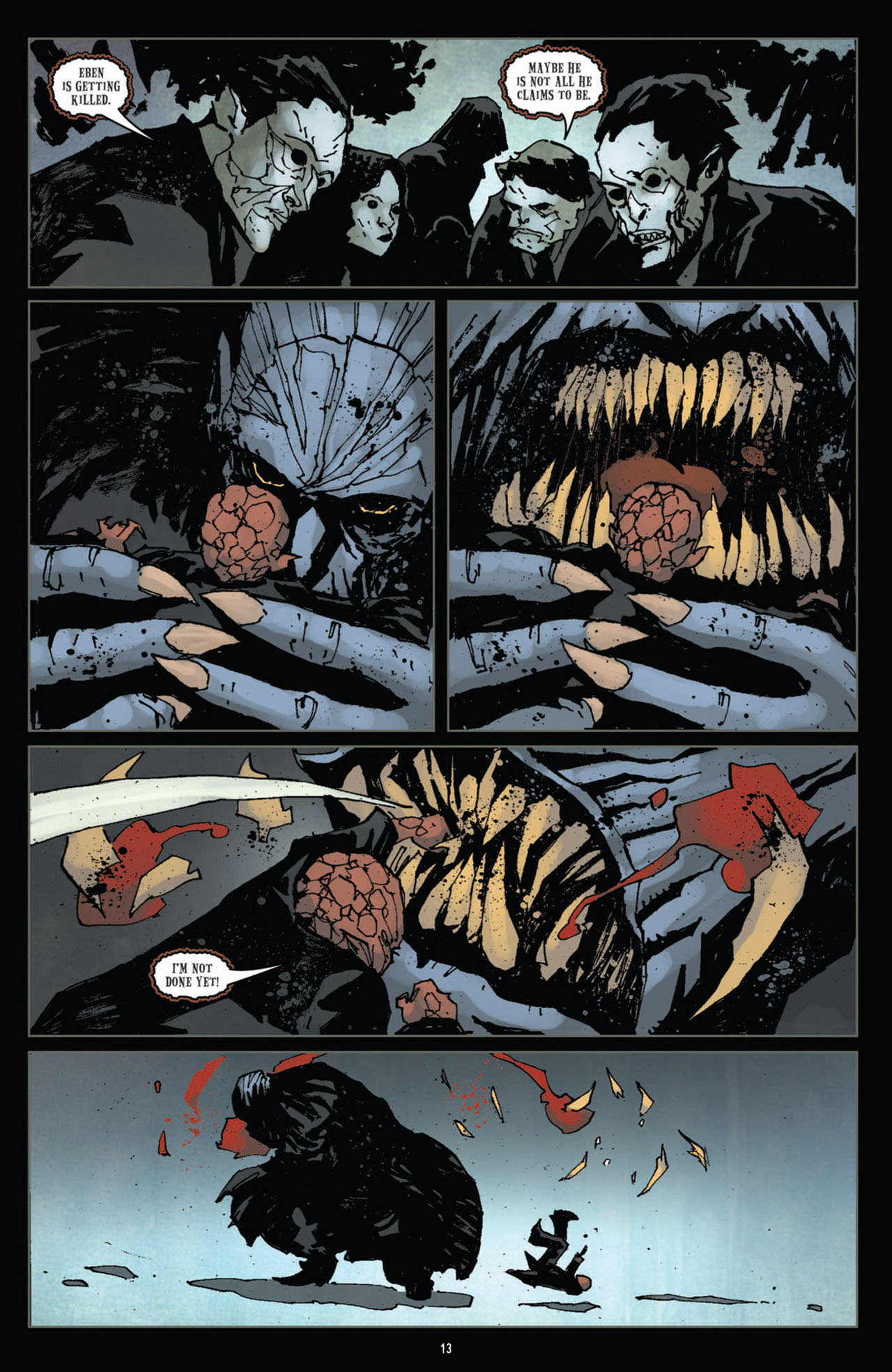 Read online 30 Days of Night (2011) comic -  Issue #12 - 14
