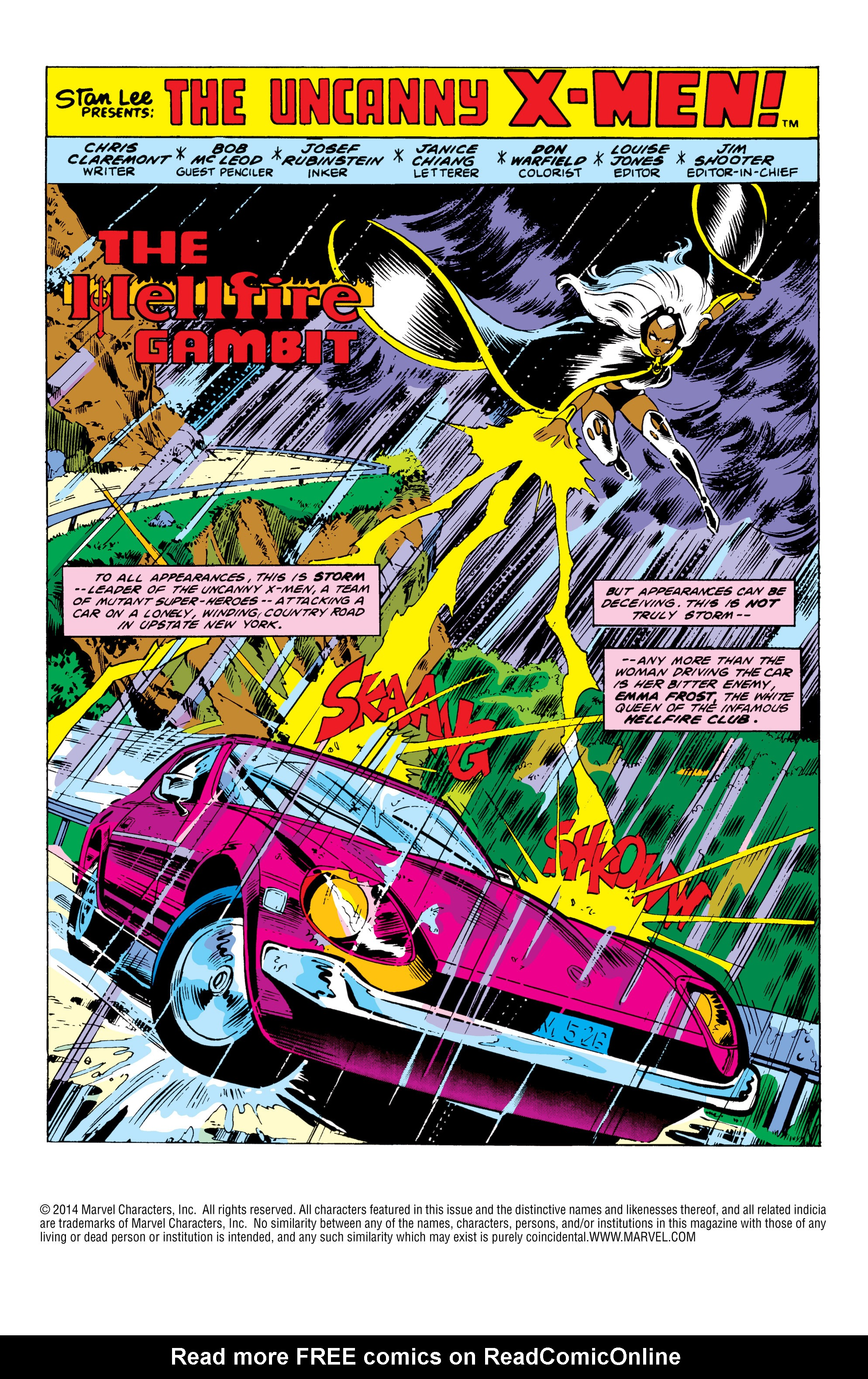 Read online Uncanny X-Men (1963) comic -  Issue #152 - 2
