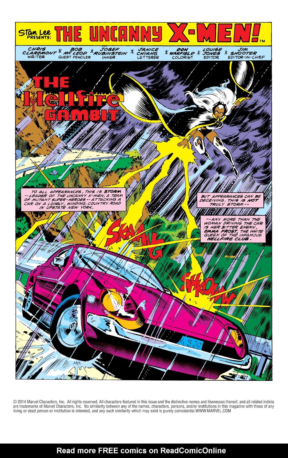 Uncanny X-Men (1963) issue 152 - Page 2