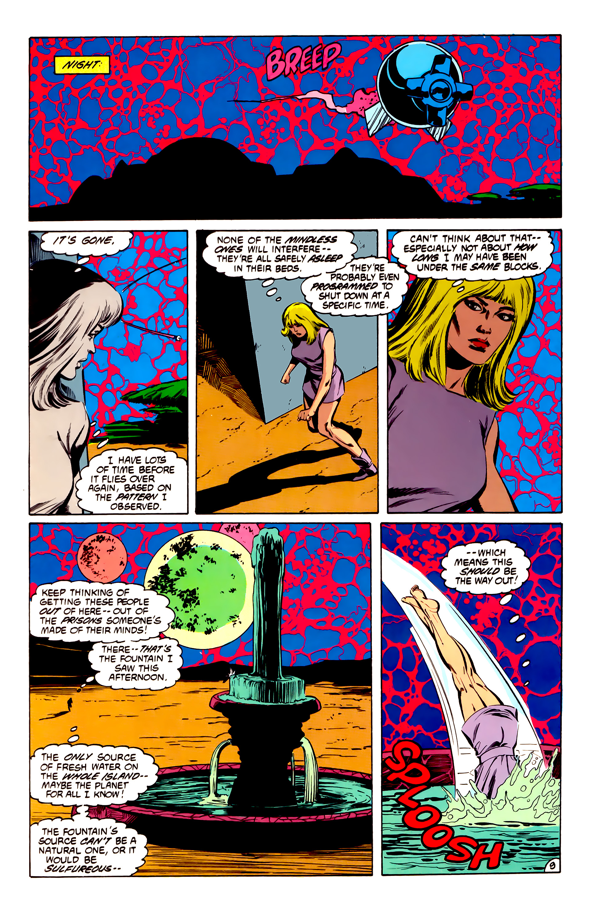 Legion of Super-Heroes (1984) 32 Page 8