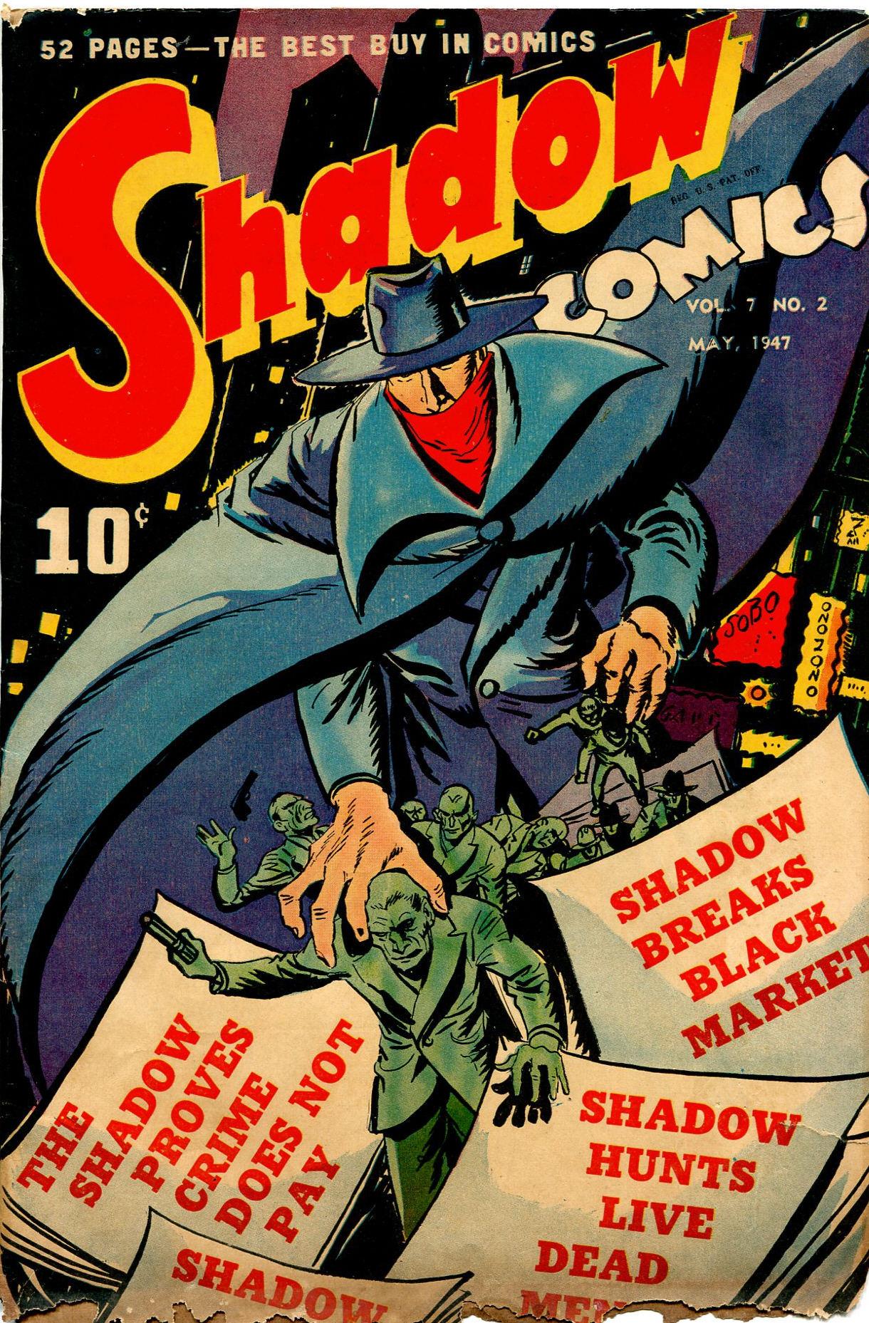 Read online Shadow Comics comic -  Issue #74 - 1