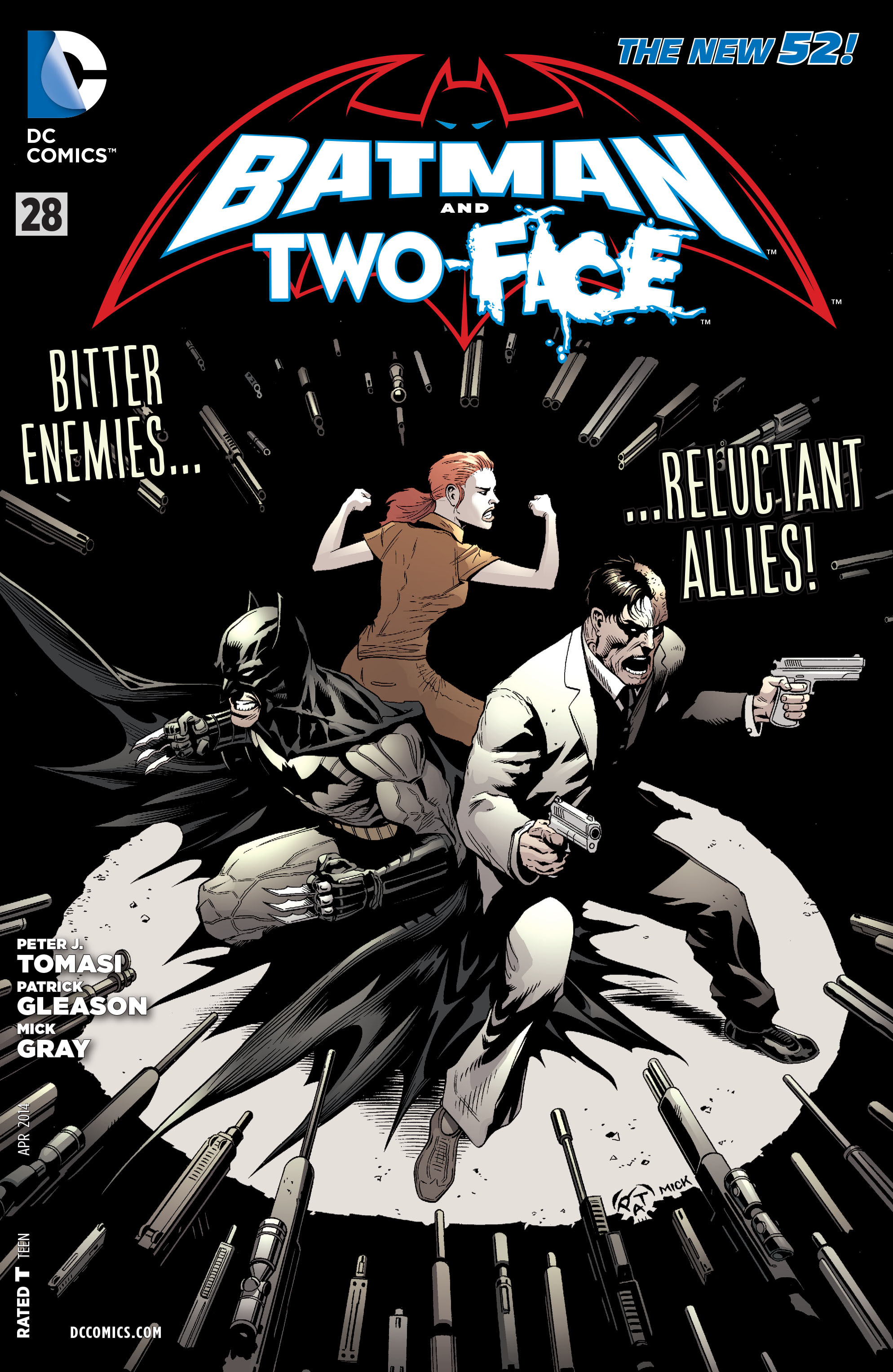 Read online Batman and Robin (2011) comic -  Issue #28 - Batman and Two-Face - 1