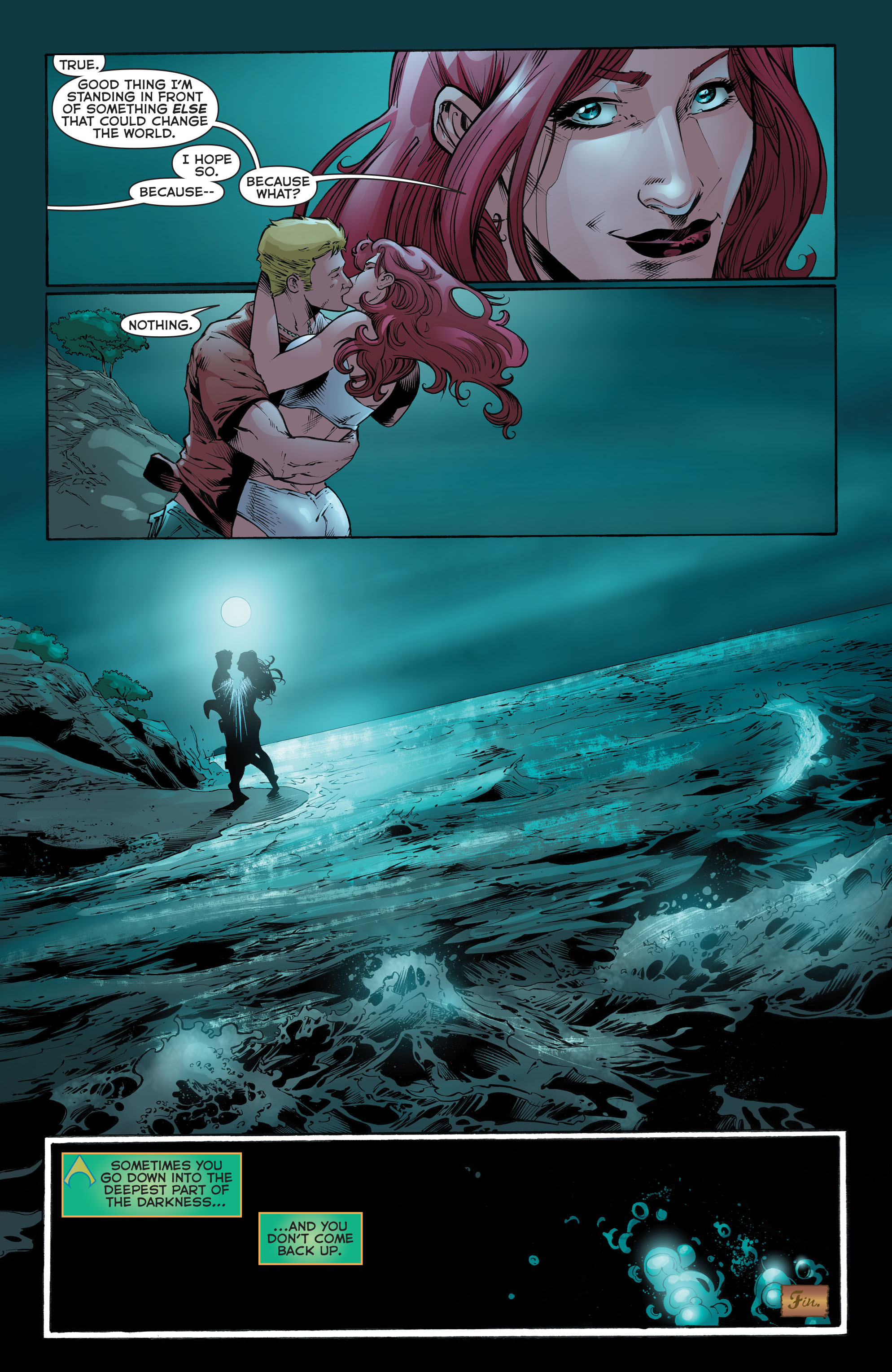 Read online Aquaman (2011) comic -  Issue #52 - 23