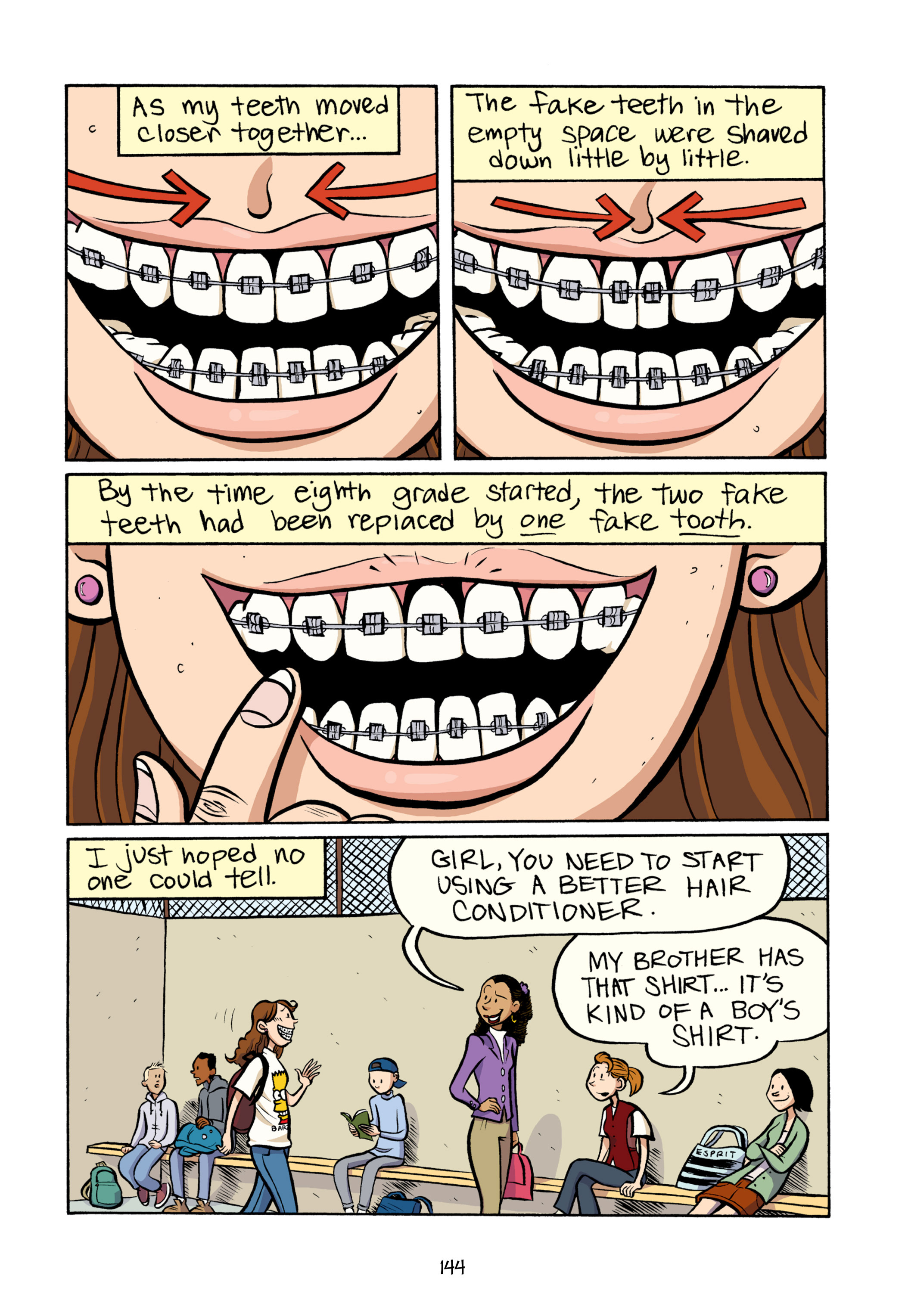 Read online Smile comic -  Issue # TPB - 150