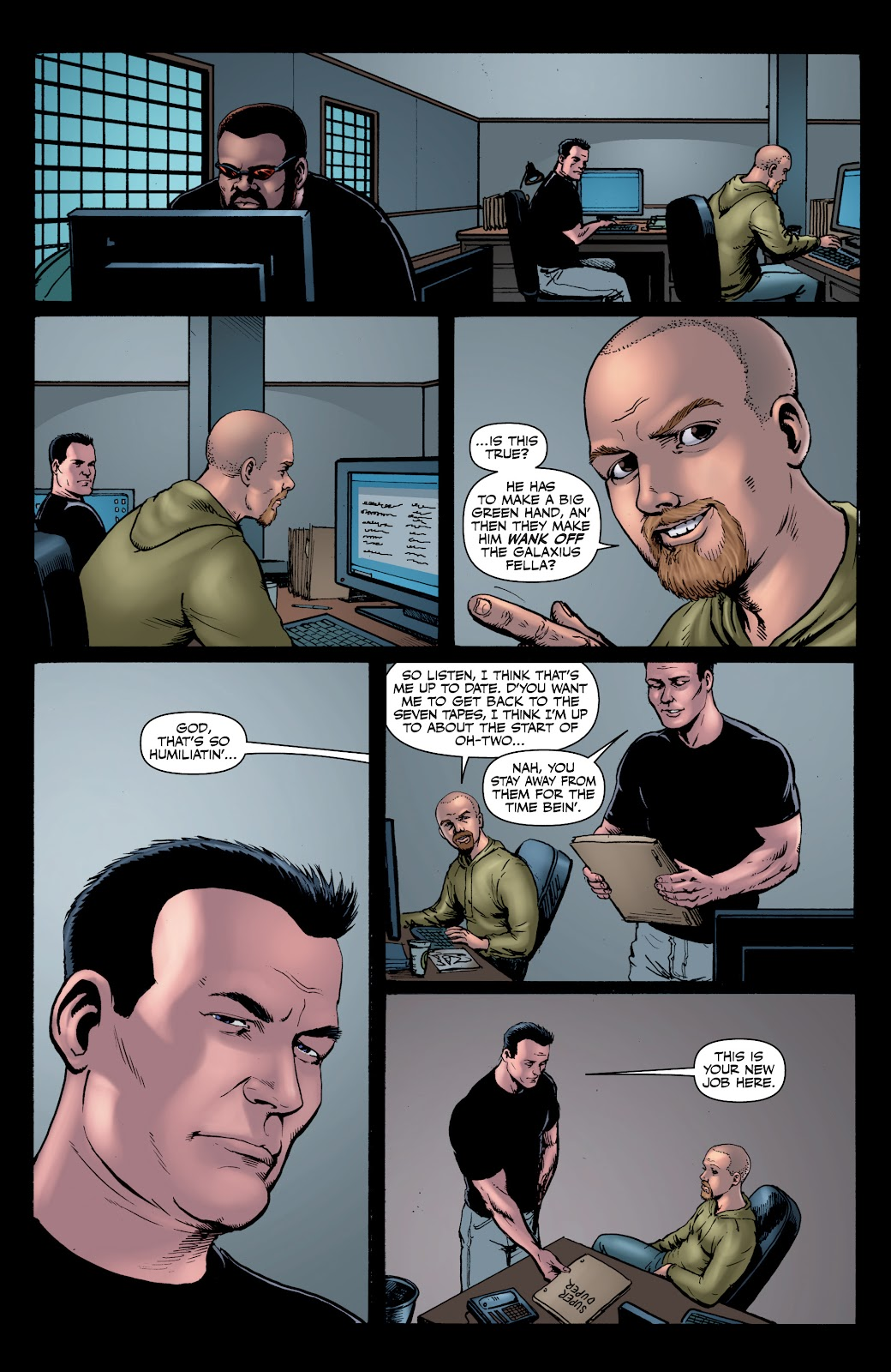 Read online The Boys Omnibus comic -  Issue # TPB 4 (Part 1) - 40