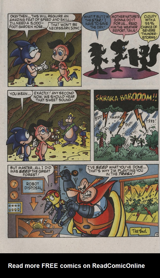 Read online Sonic the Hedgehog Free Comic Book Day Edition comic -  Issue # Special 2 - 18
