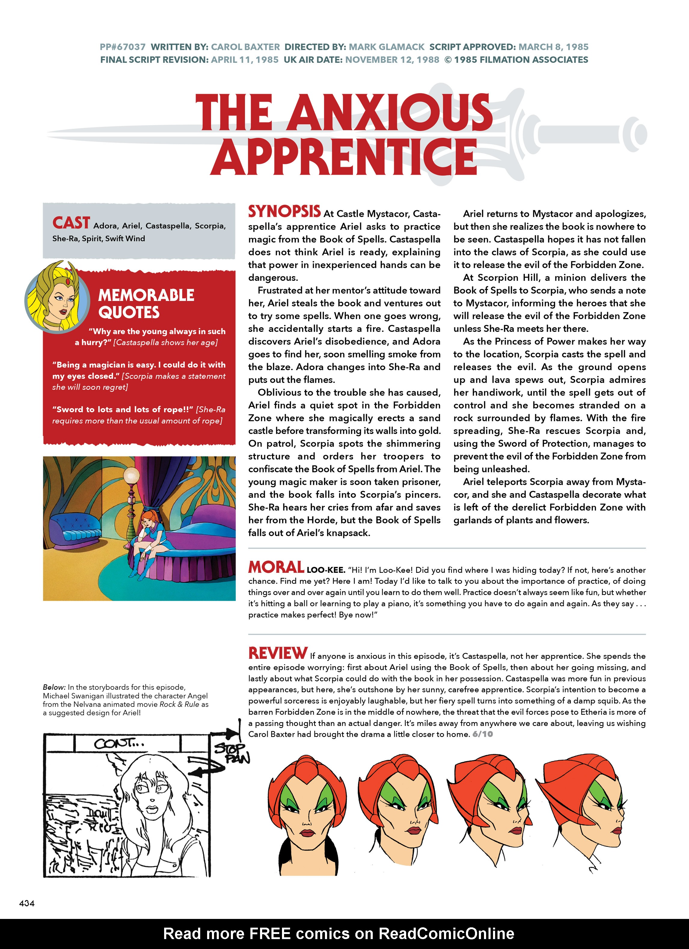 Read online He-Man and She-Ra: A Complete Guide to the Classic Animated Adventures comic -  Issue # TPB (Part 3) - 35