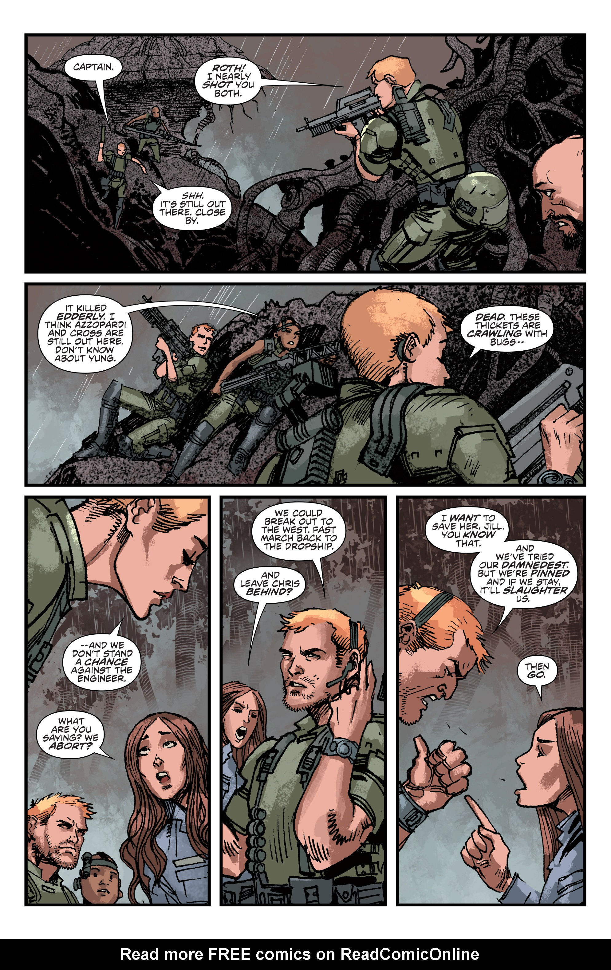 Read online Aliens: Life And Death comic -  Issue #4 - 10