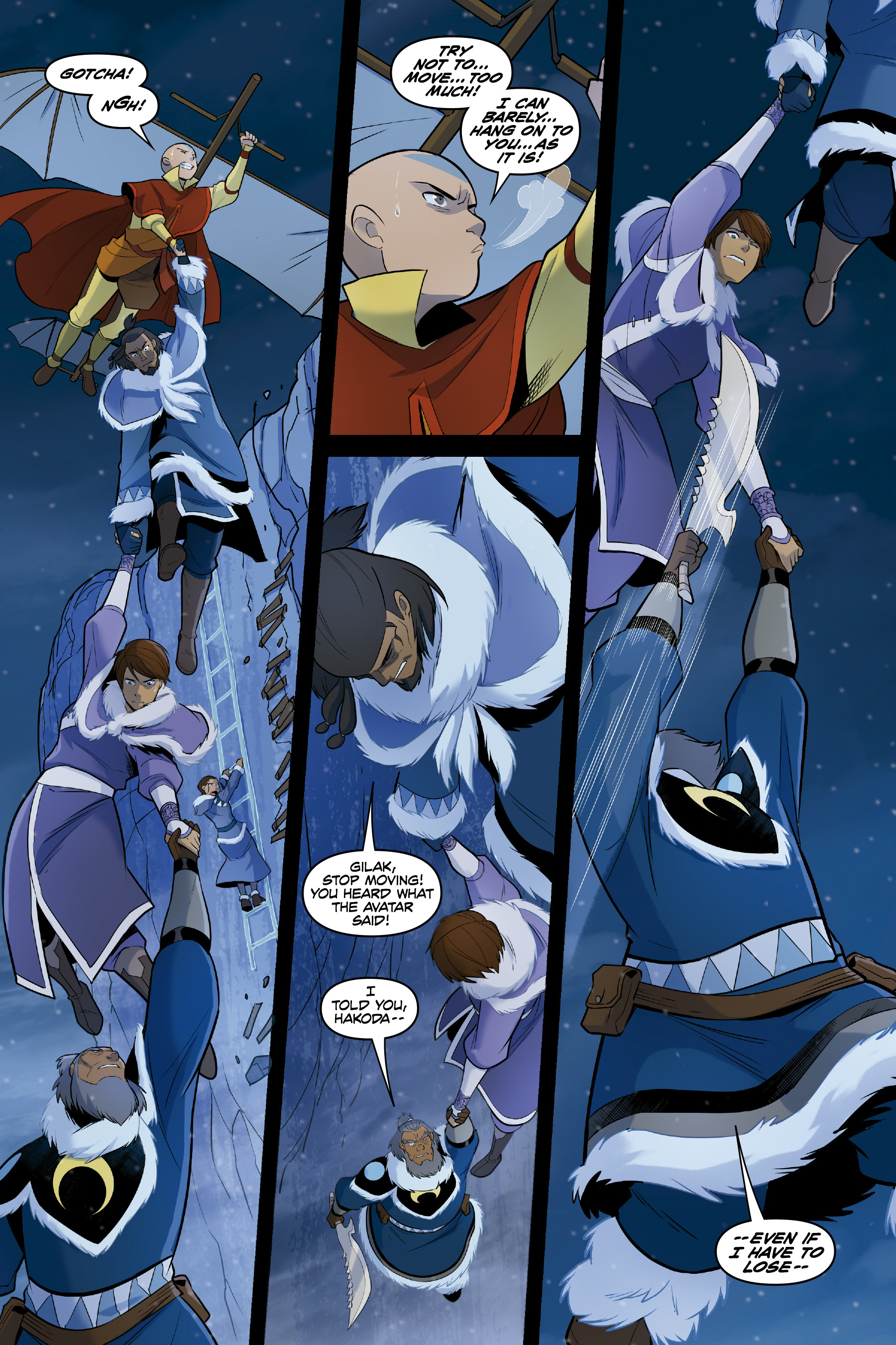 Read online Nickelodeon Avatar: The Last Airbender - North and South comic -  Issue #3 - 64