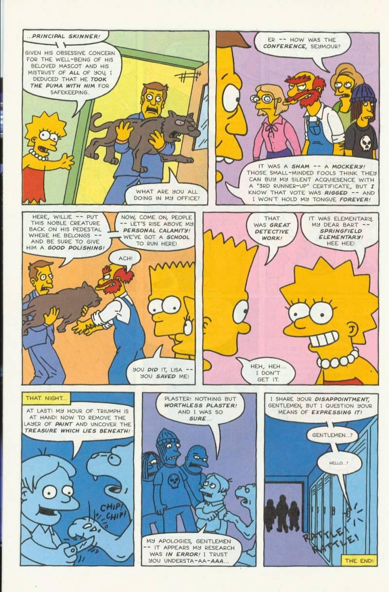 Read online Simpsons Comics comic -  Issue #3 - 21