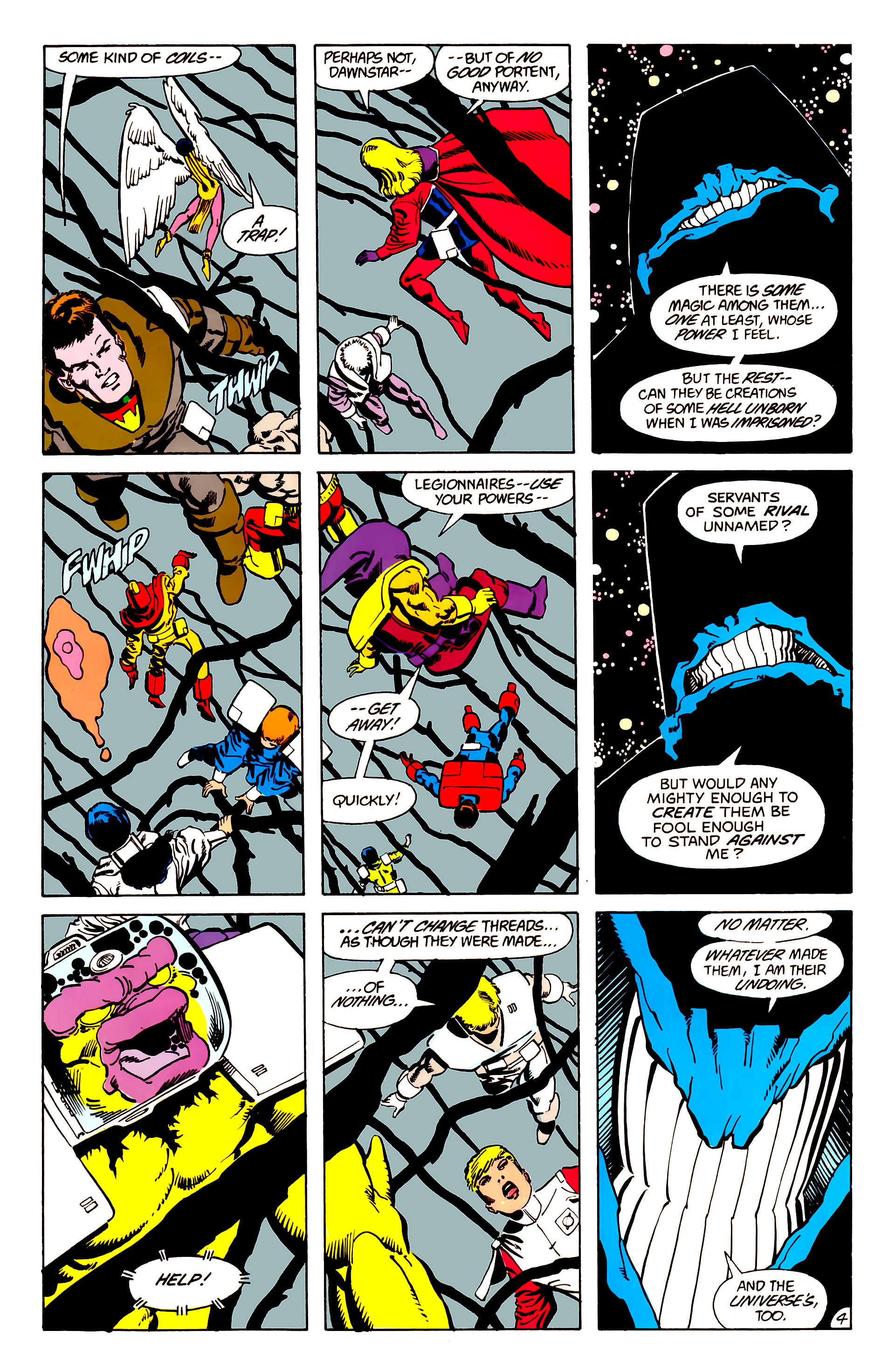 Legion of Super-Heroes (1984) 63 Page 4
