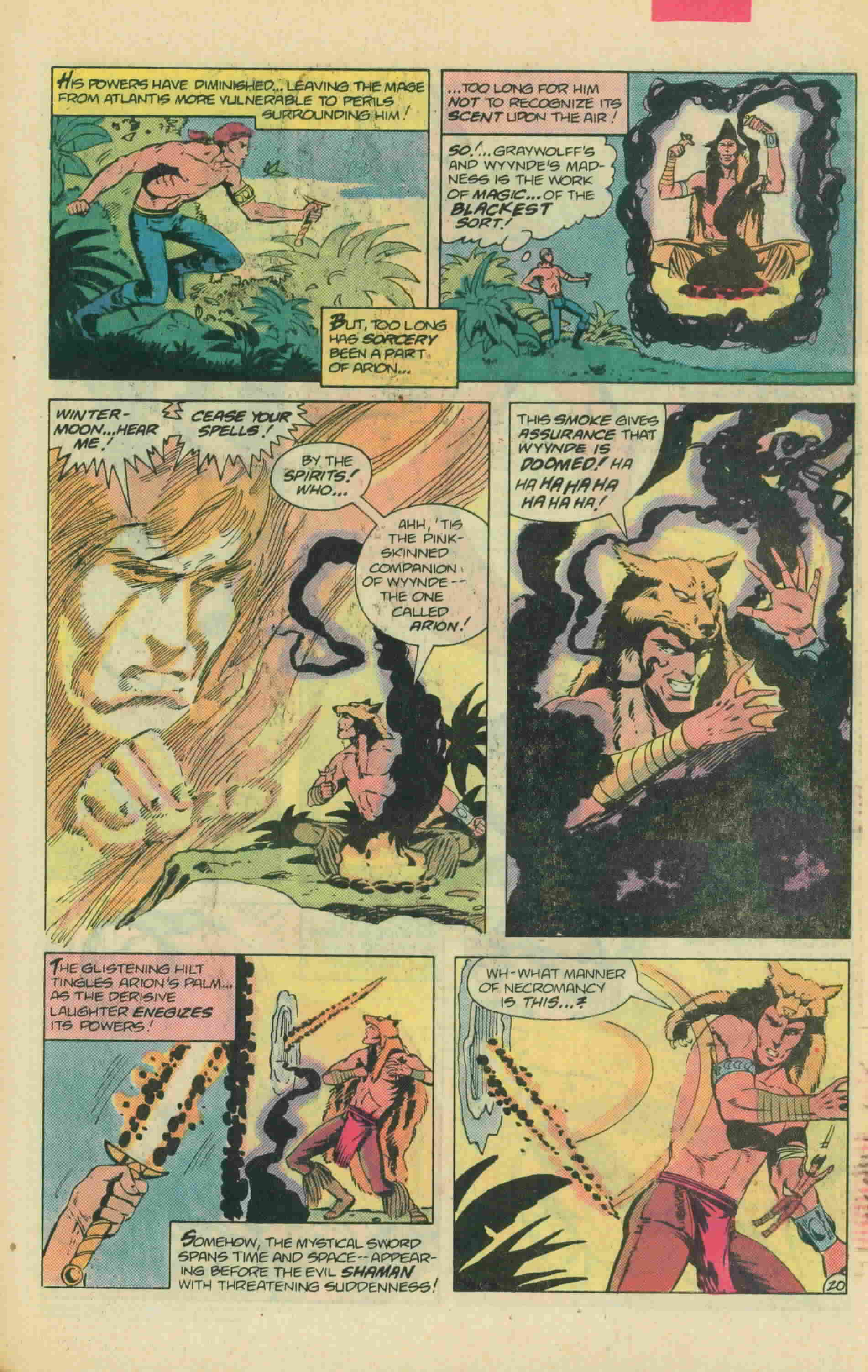 Read online Arion, Lord of Atlantis comic -  Issue #13 - 28