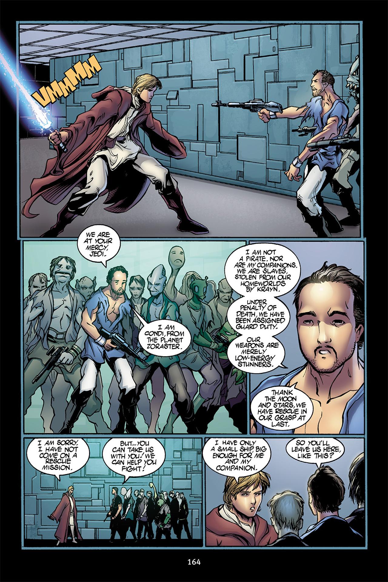 Read online Star Wars Omnibus comic -  Issue # Vol. 10 - 163