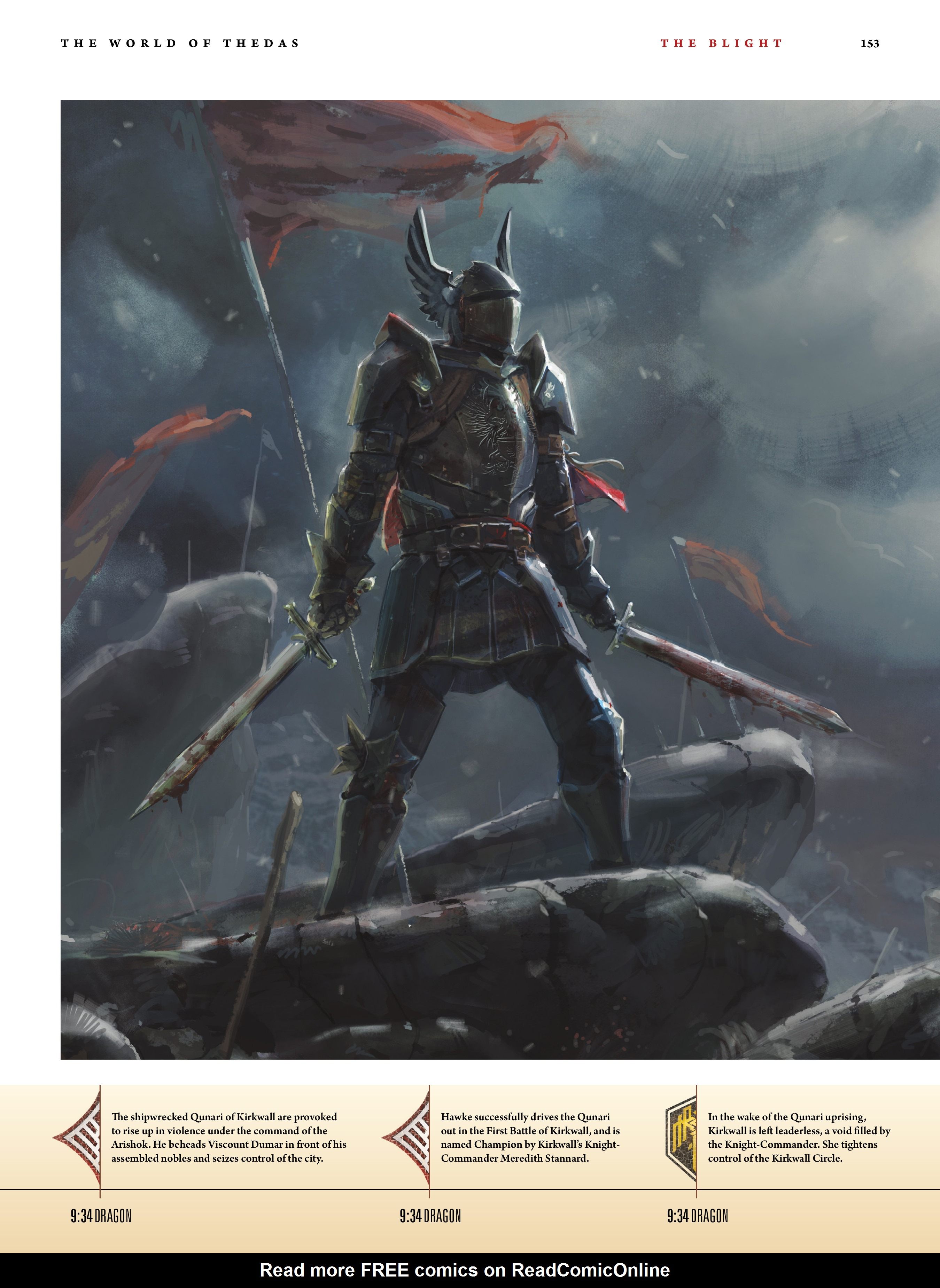 Read online Dragon Age: The World of Thedas comic -  Issue # TPB 1 - 126