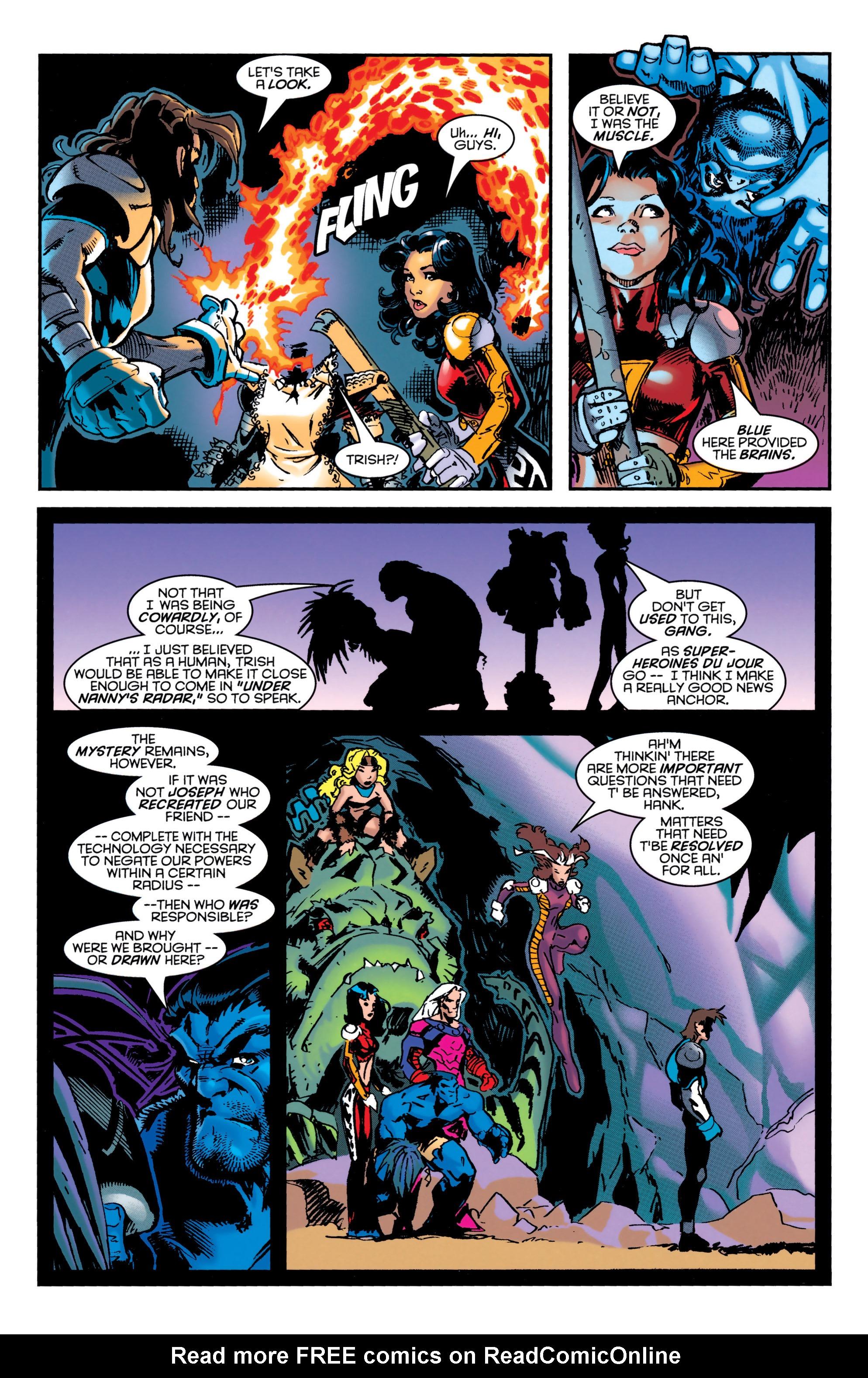 Read online Uncanny X-Men (1963) comic -  Issue #349 - 22