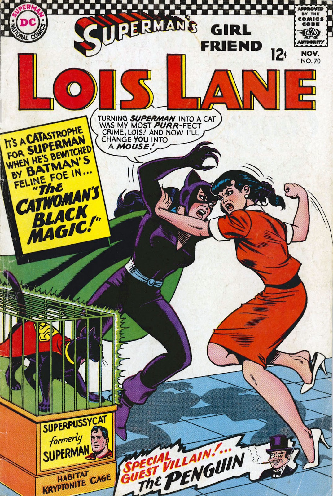 Supermans Girl Friend, Lois Lane 70 Page 1