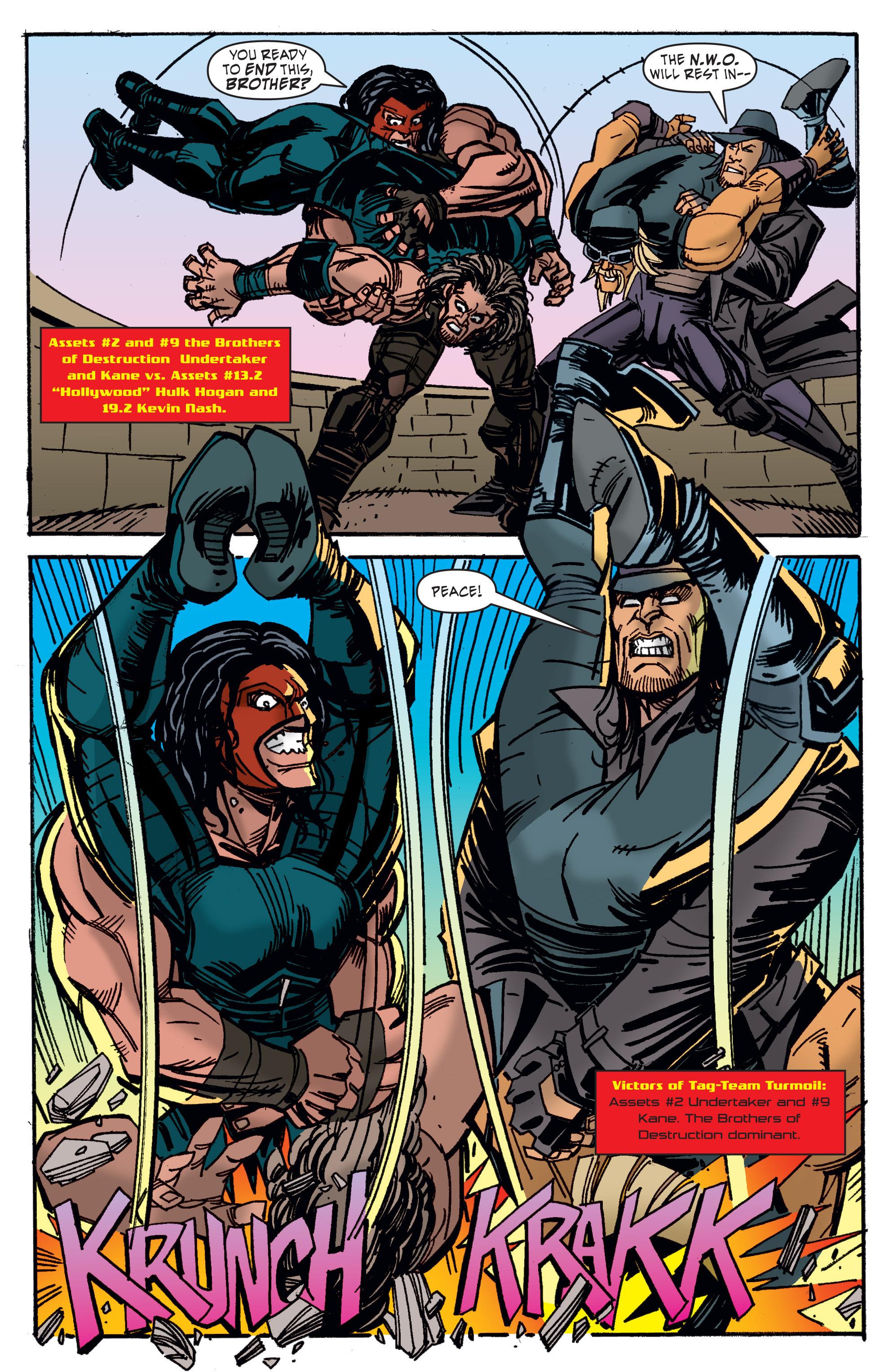 Read online WWE Superstars comic -  Issue #11 - 17