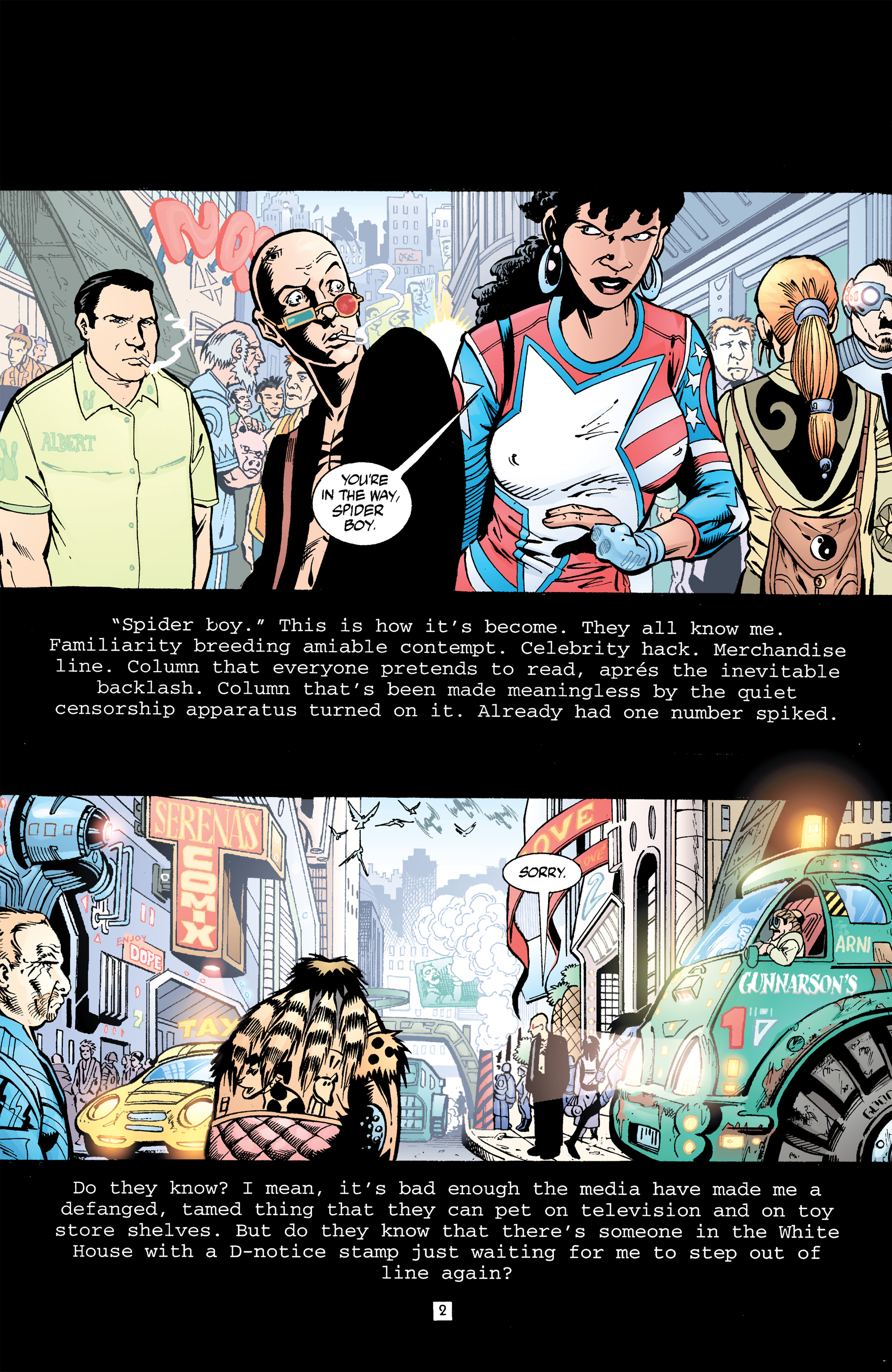 Read online Transmetropolitan comic -  Issue #32 - 3