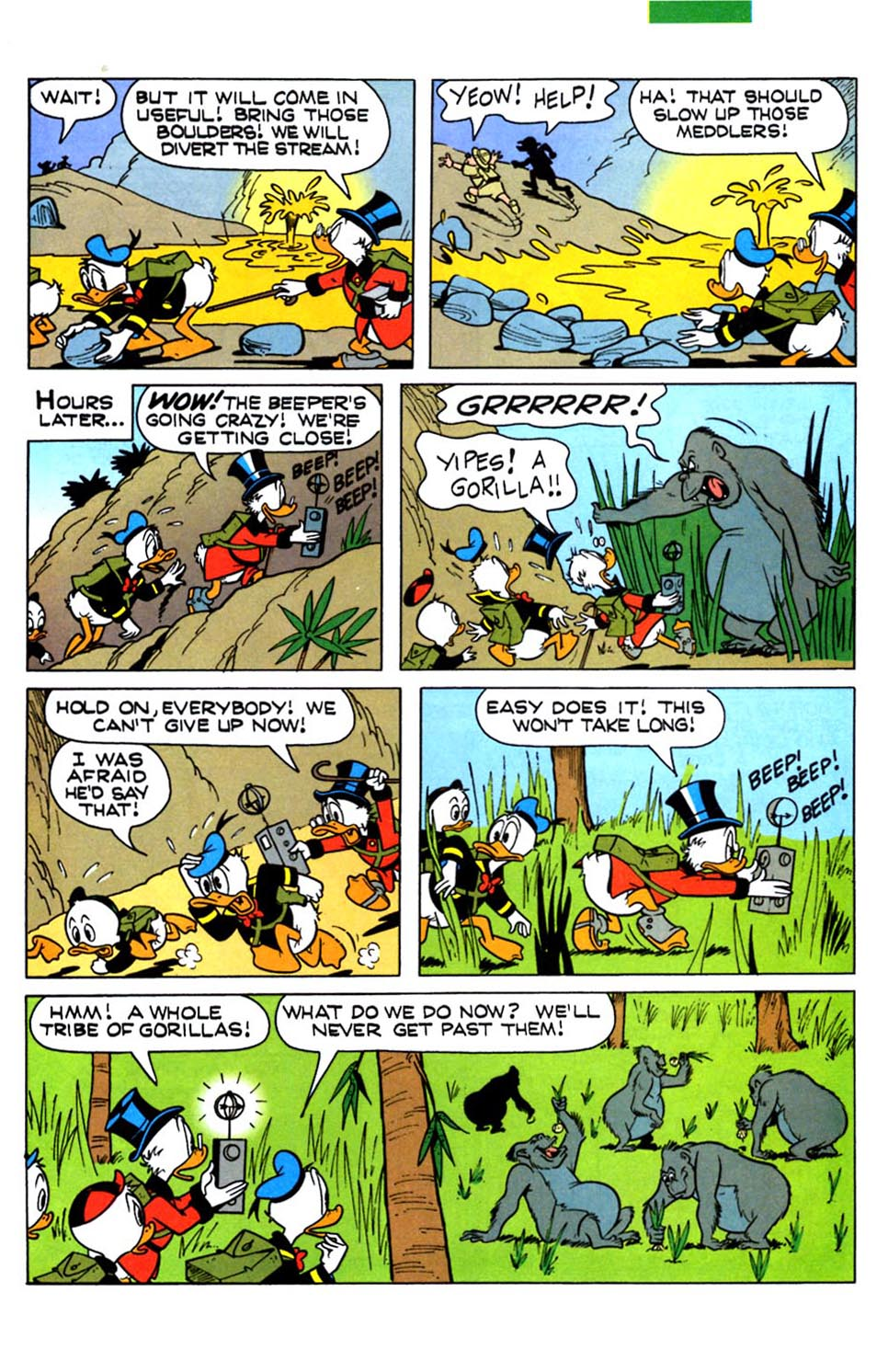 Read online Uncle Scrooge (1953) comic -  Issue #288 - 23
