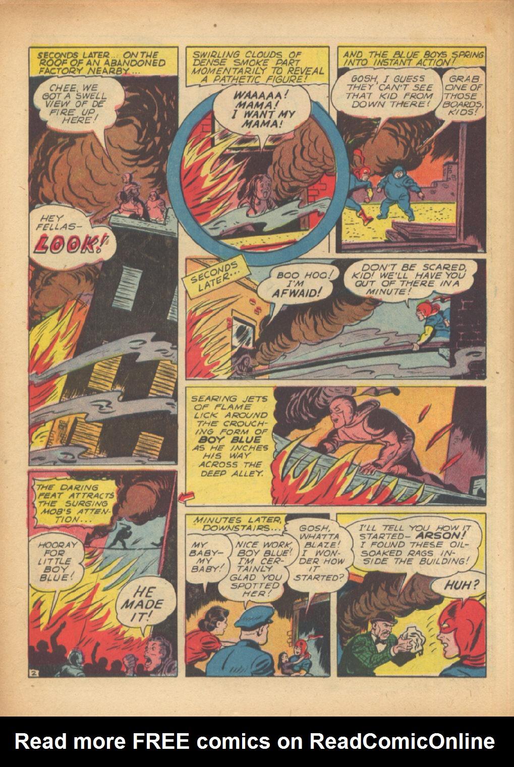 Read online Sensation (Mystery) Comics comic -  Issue #24 - 26
