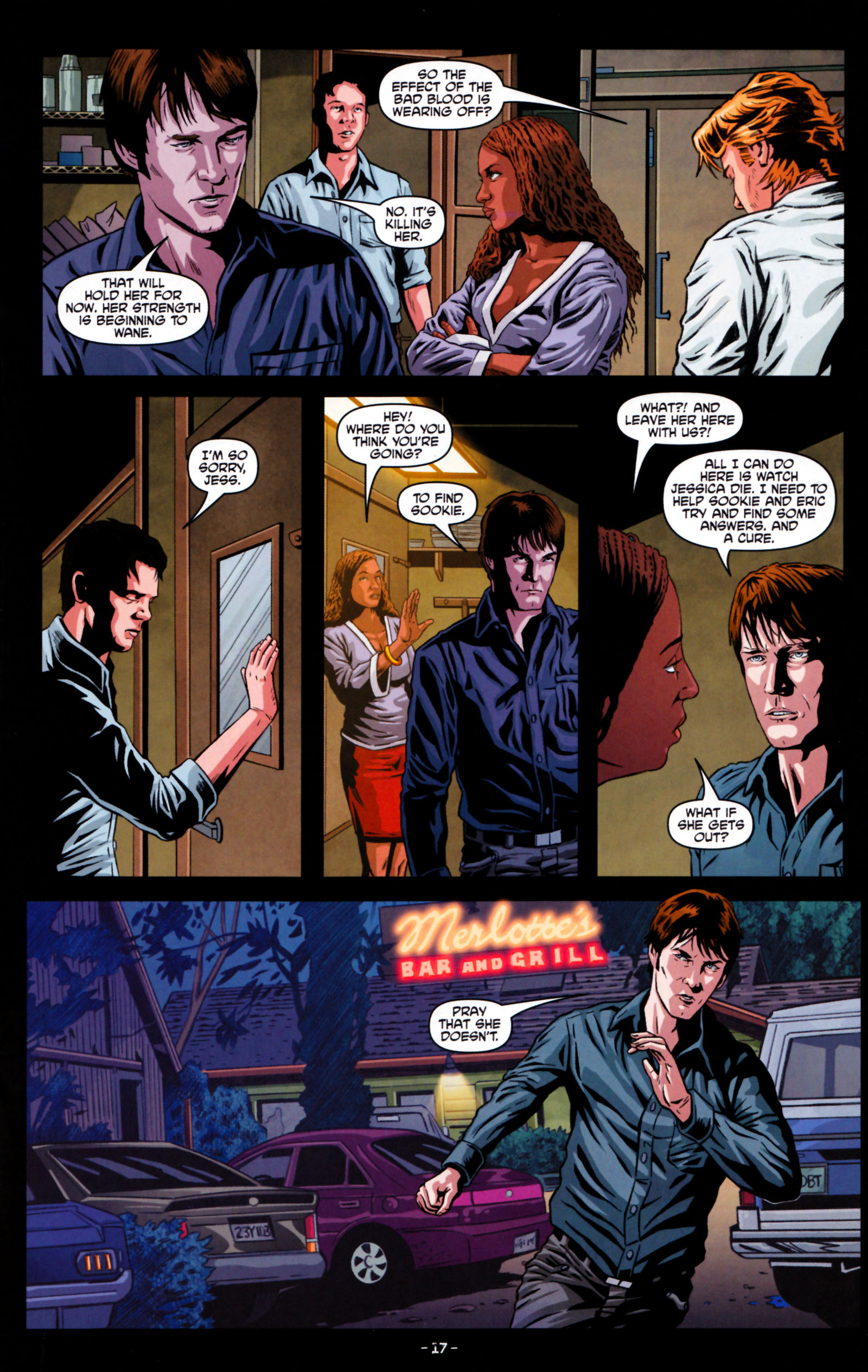 Read online True Blood: Tainted Love comic -  Issue #5 - 20