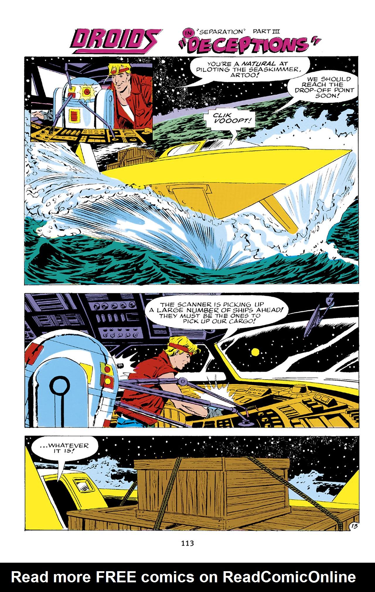Read online Star Wars Omnibus comic -  Issue # Vol. 23 - 112