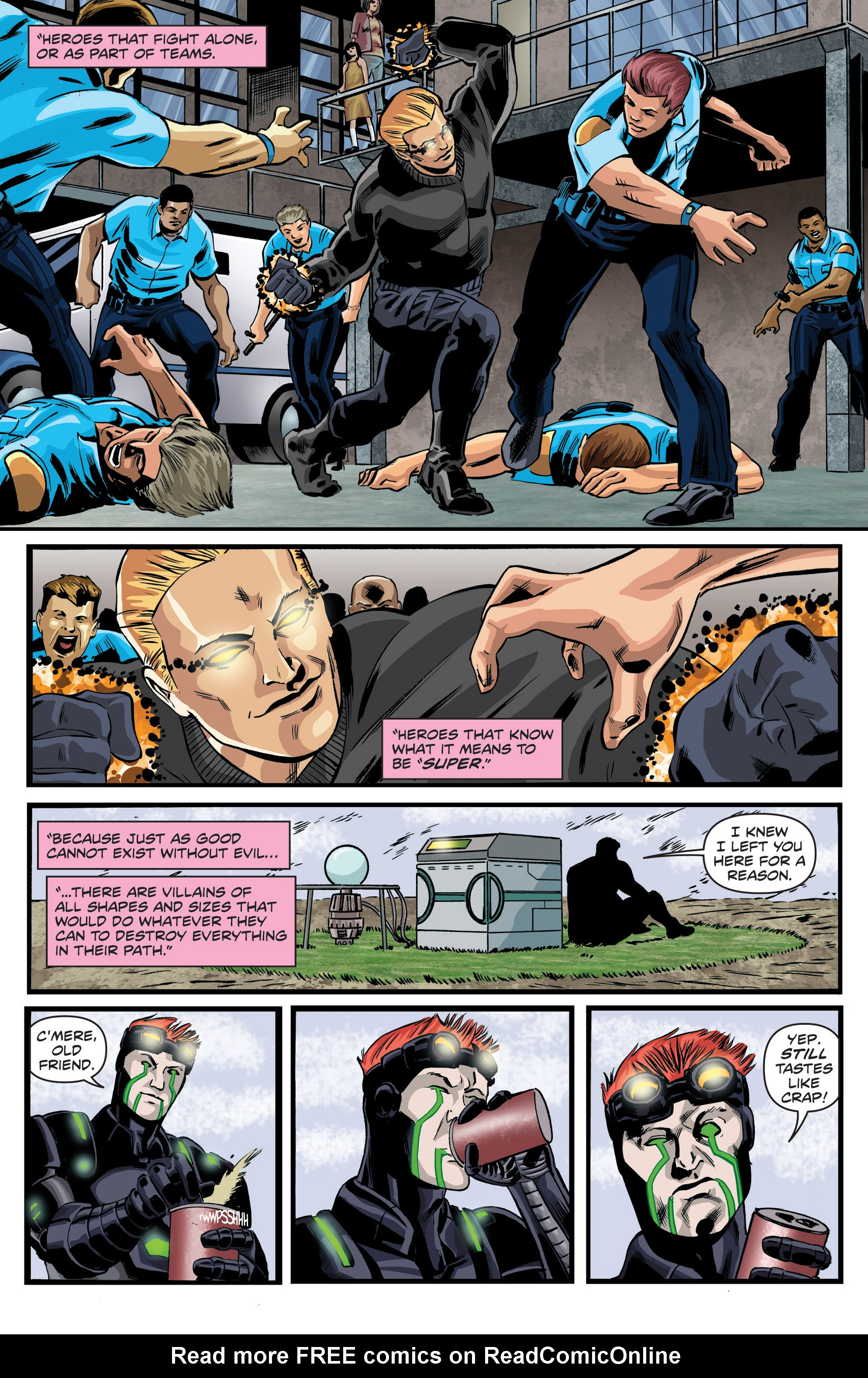 Read online Actionverse comic -  Issue #6 - 21