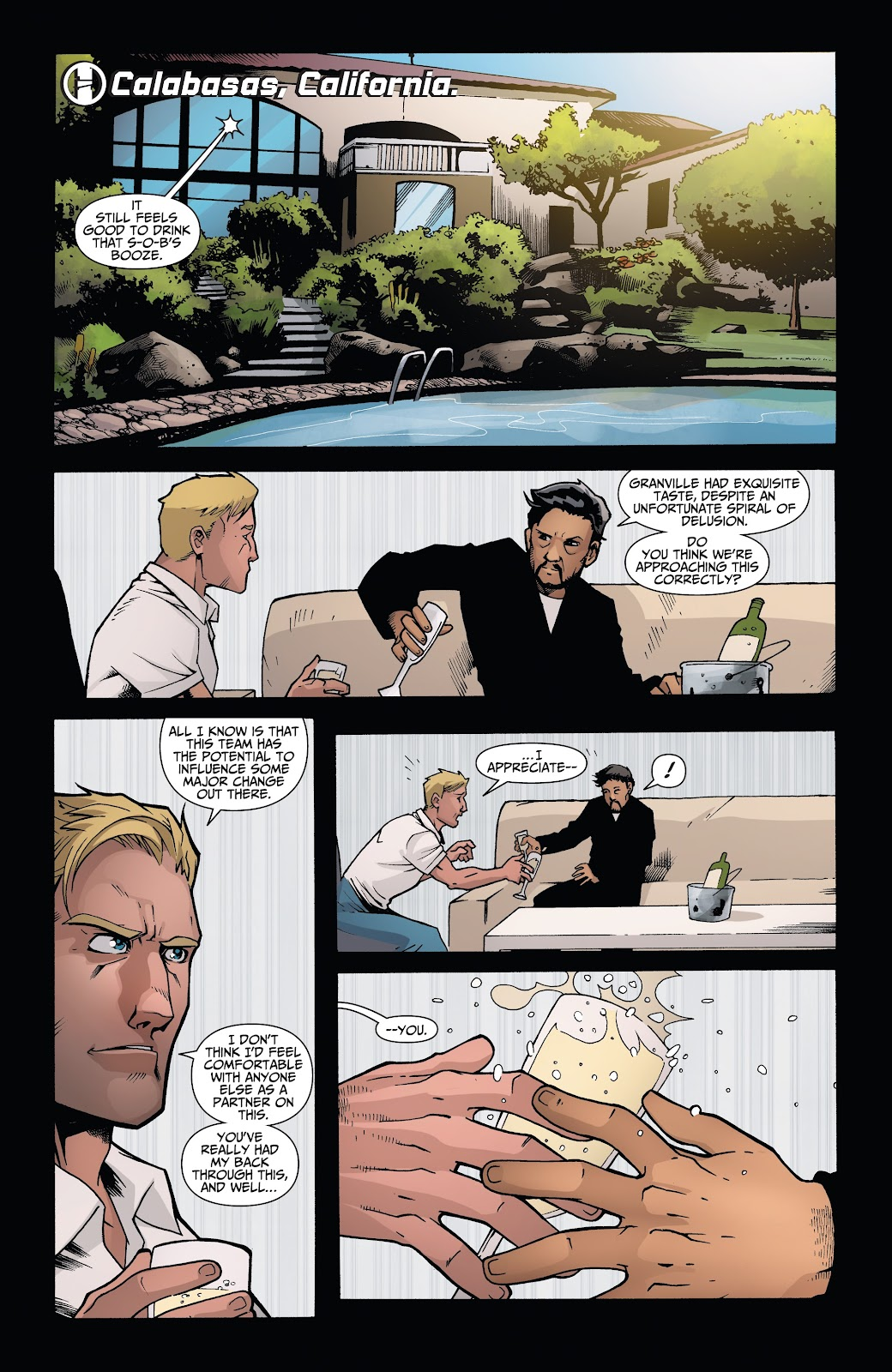 Read online Incidentals comic -  Issue #15 - 17