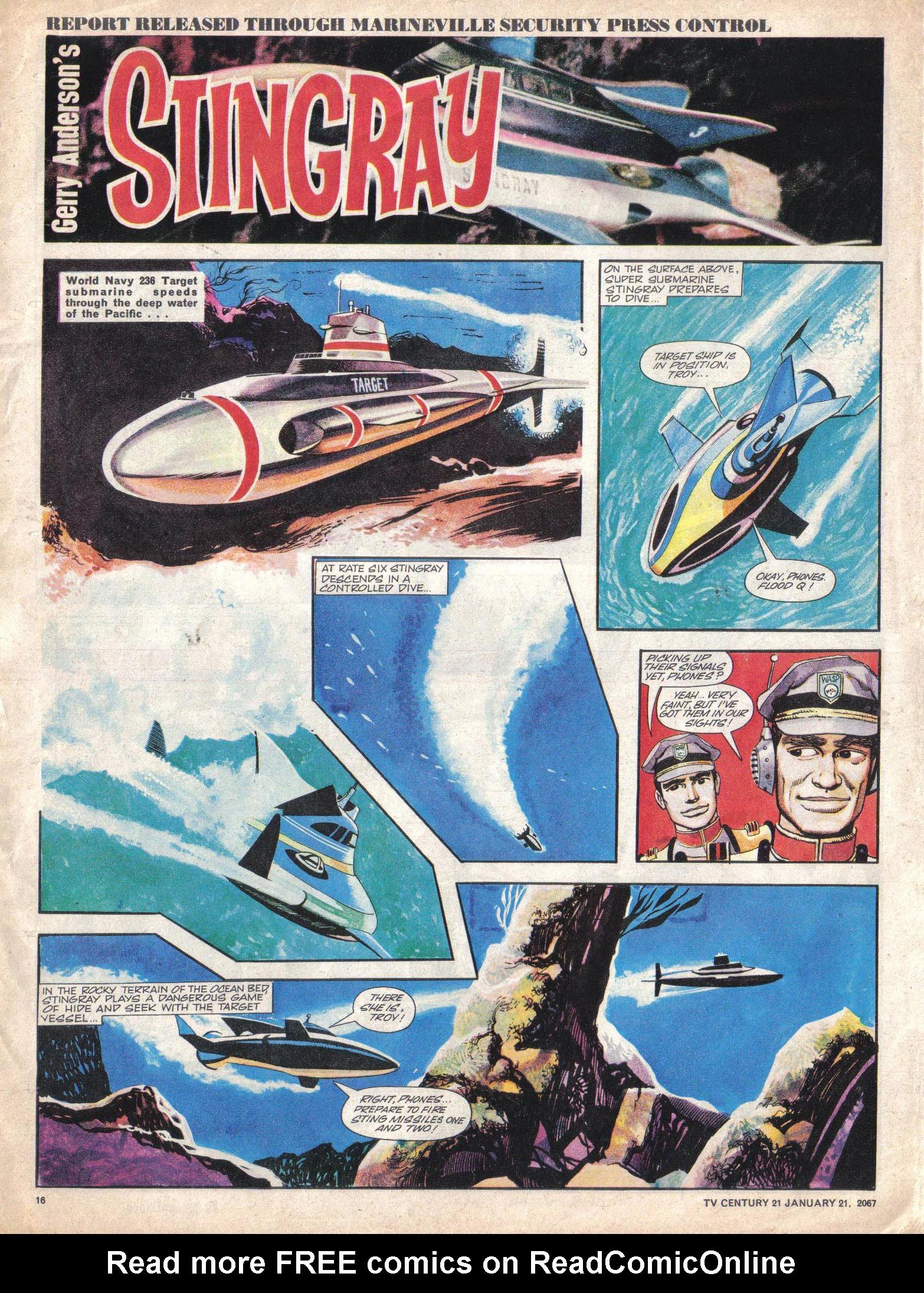 Read online TV Century 21 (TV 21) comic -  Issue #105 - 15