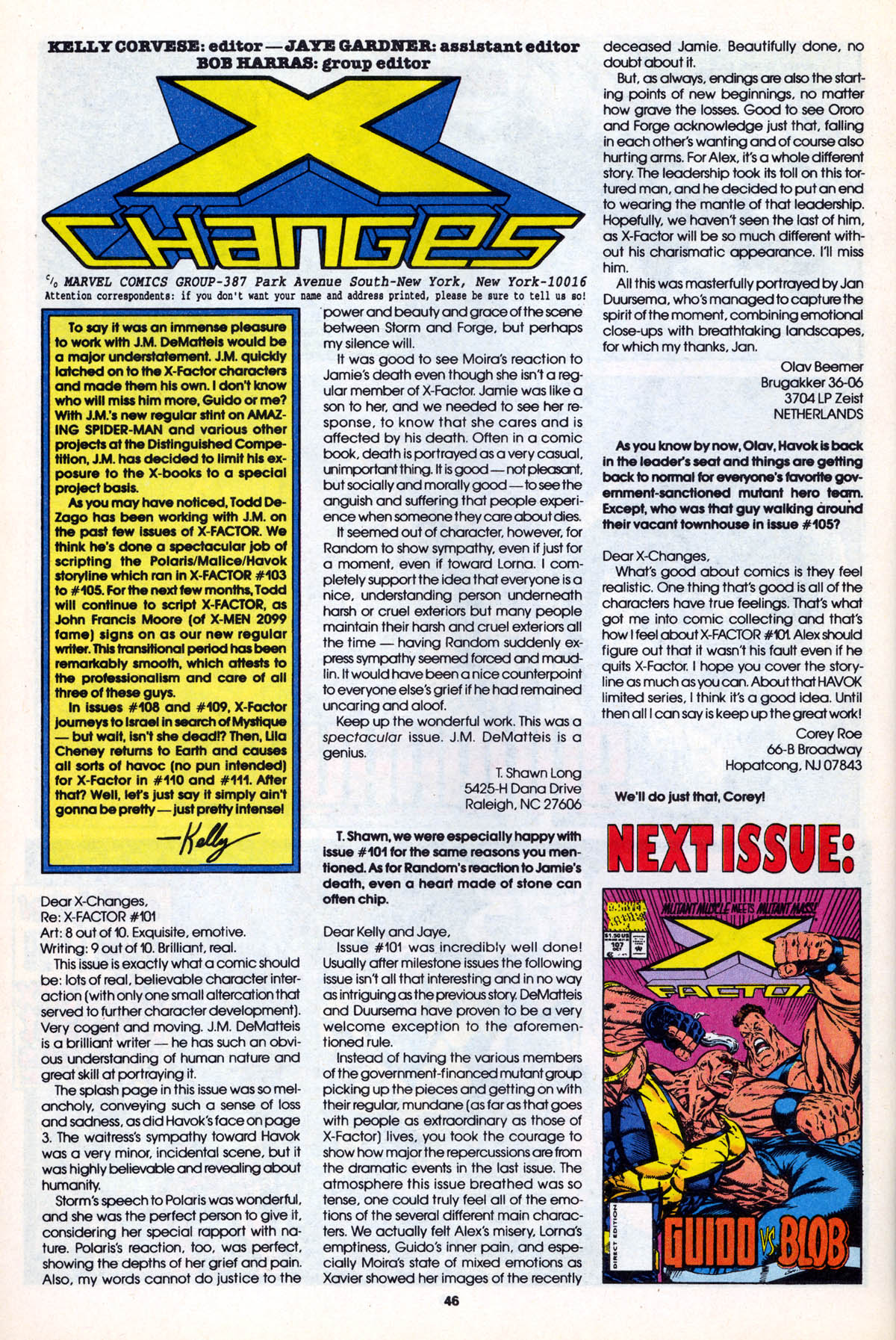 Read online X-Factor (1986) comic -  Issue #106 - 46