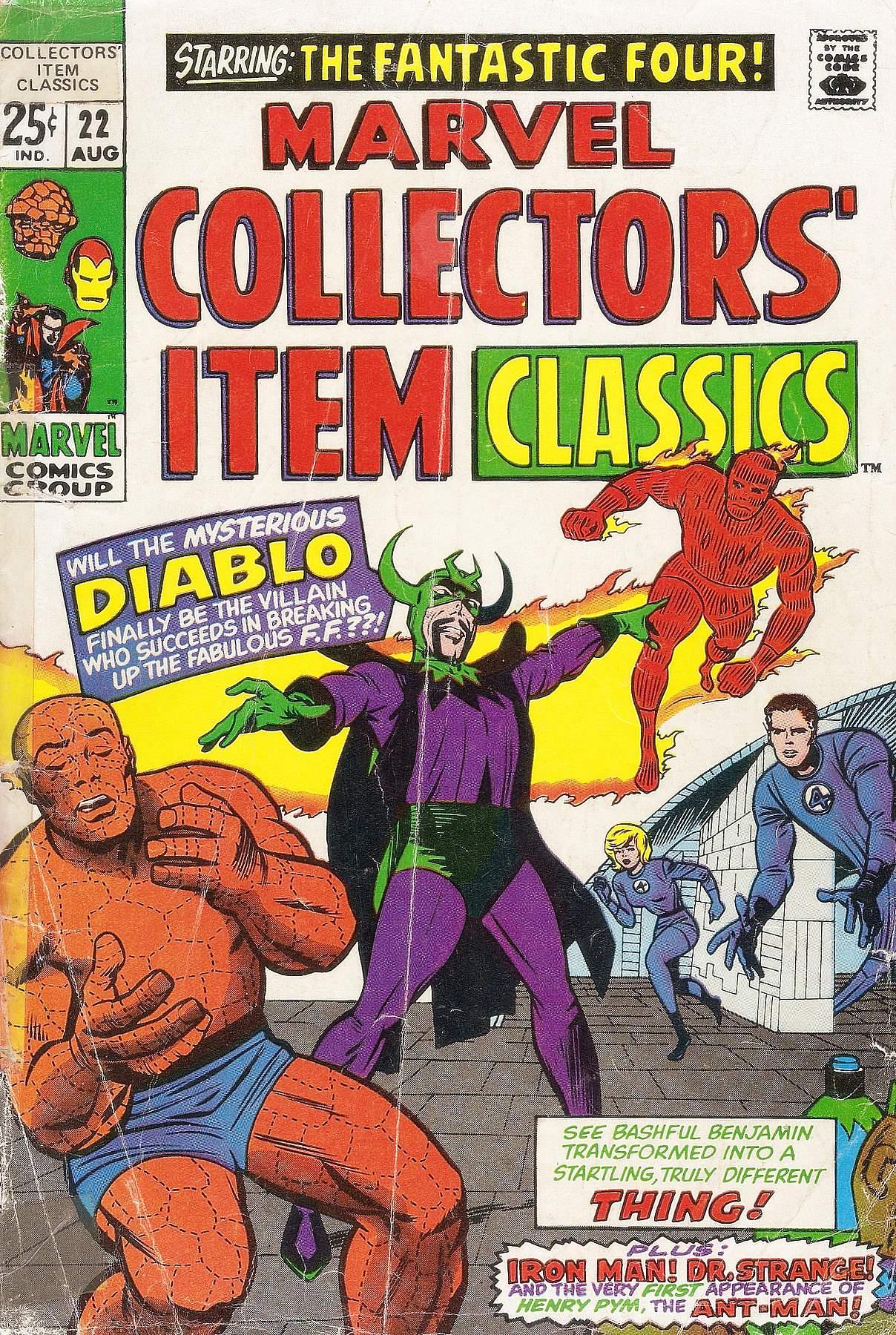 Marvel Collectors Item Classics 22 Page 1