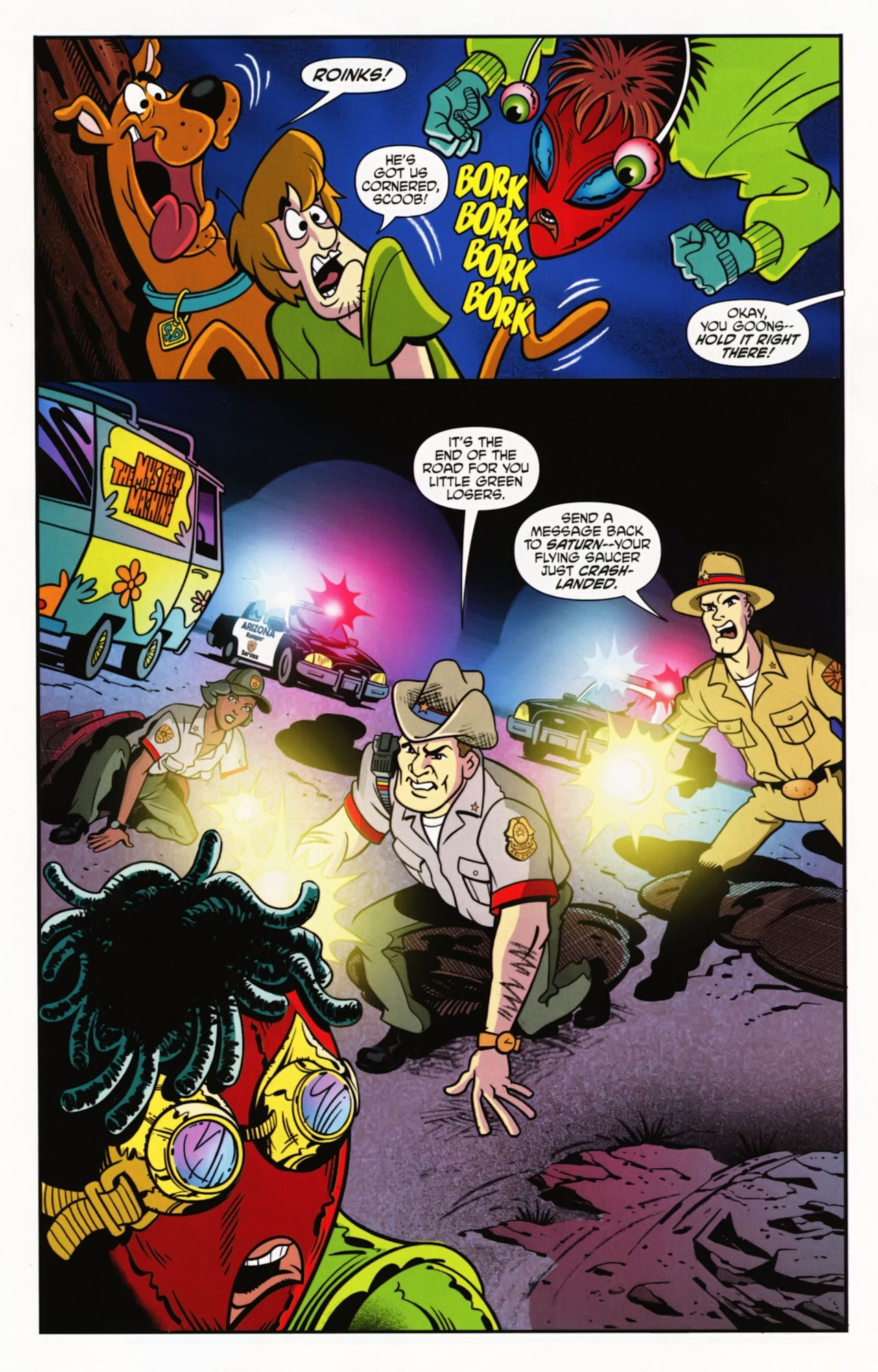 Read online Scooby-Doo: Where Are You? comic -  Issue #2 - 11