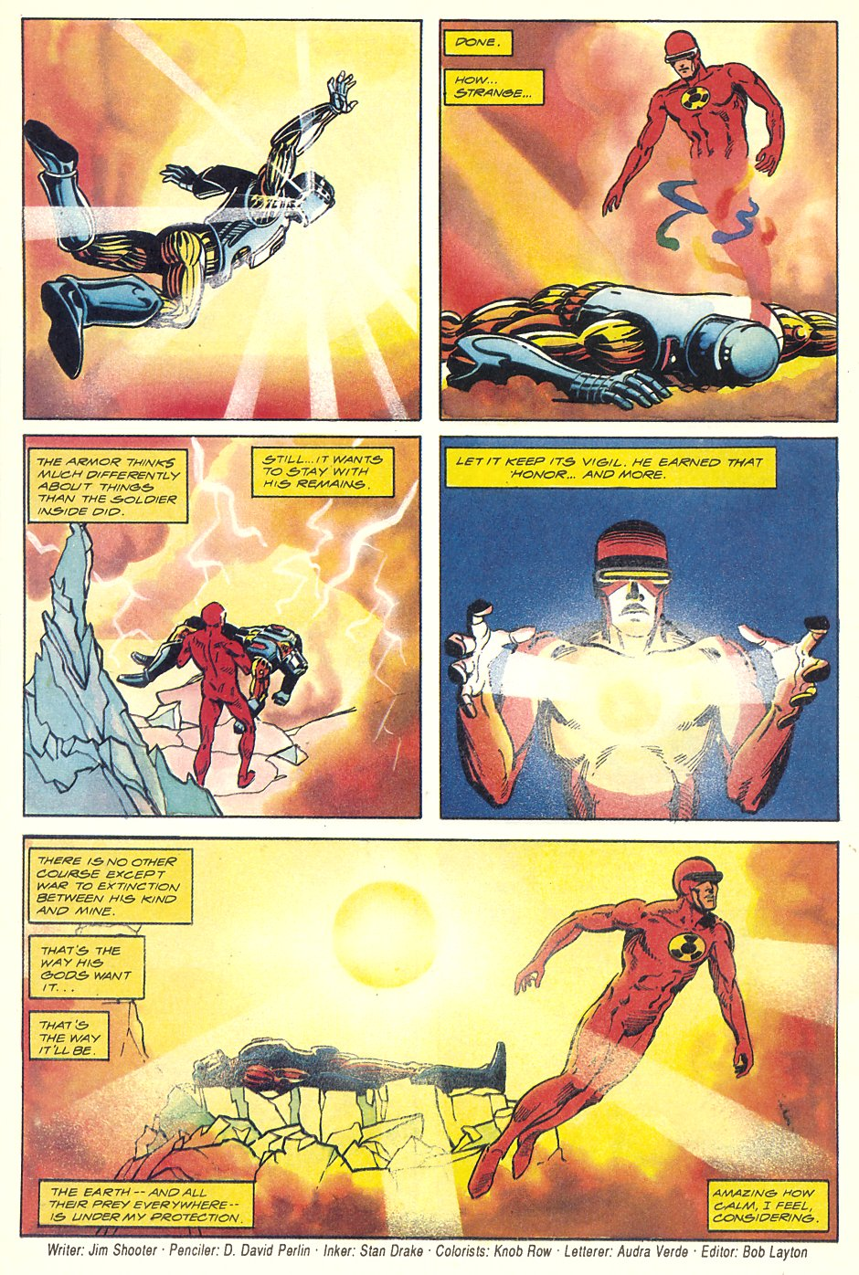 Read online Solar, Man of the Atom comic -  Issue #7 - 37