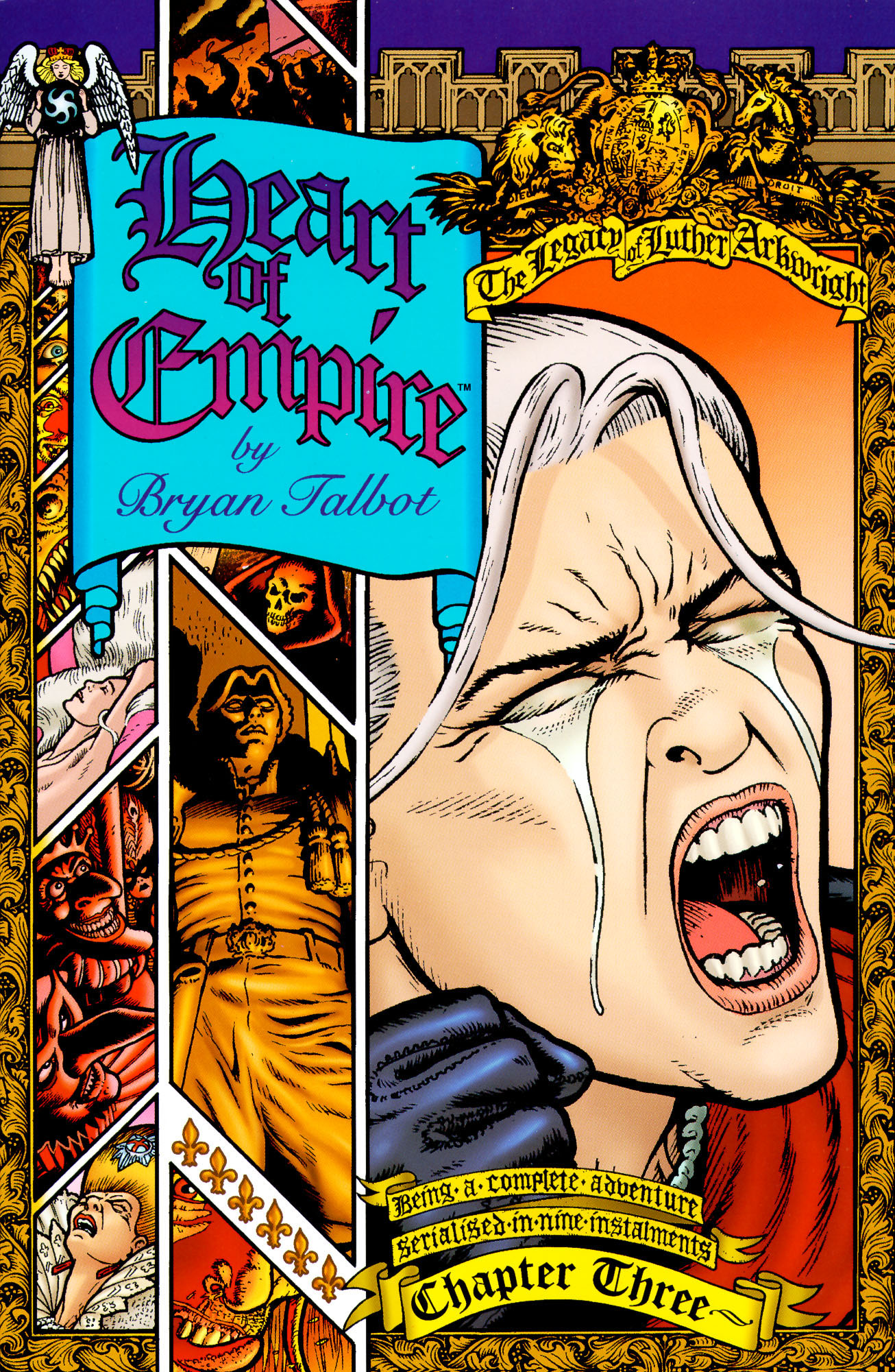 Read online Heart of Empire comic -  Issue #3 - 1