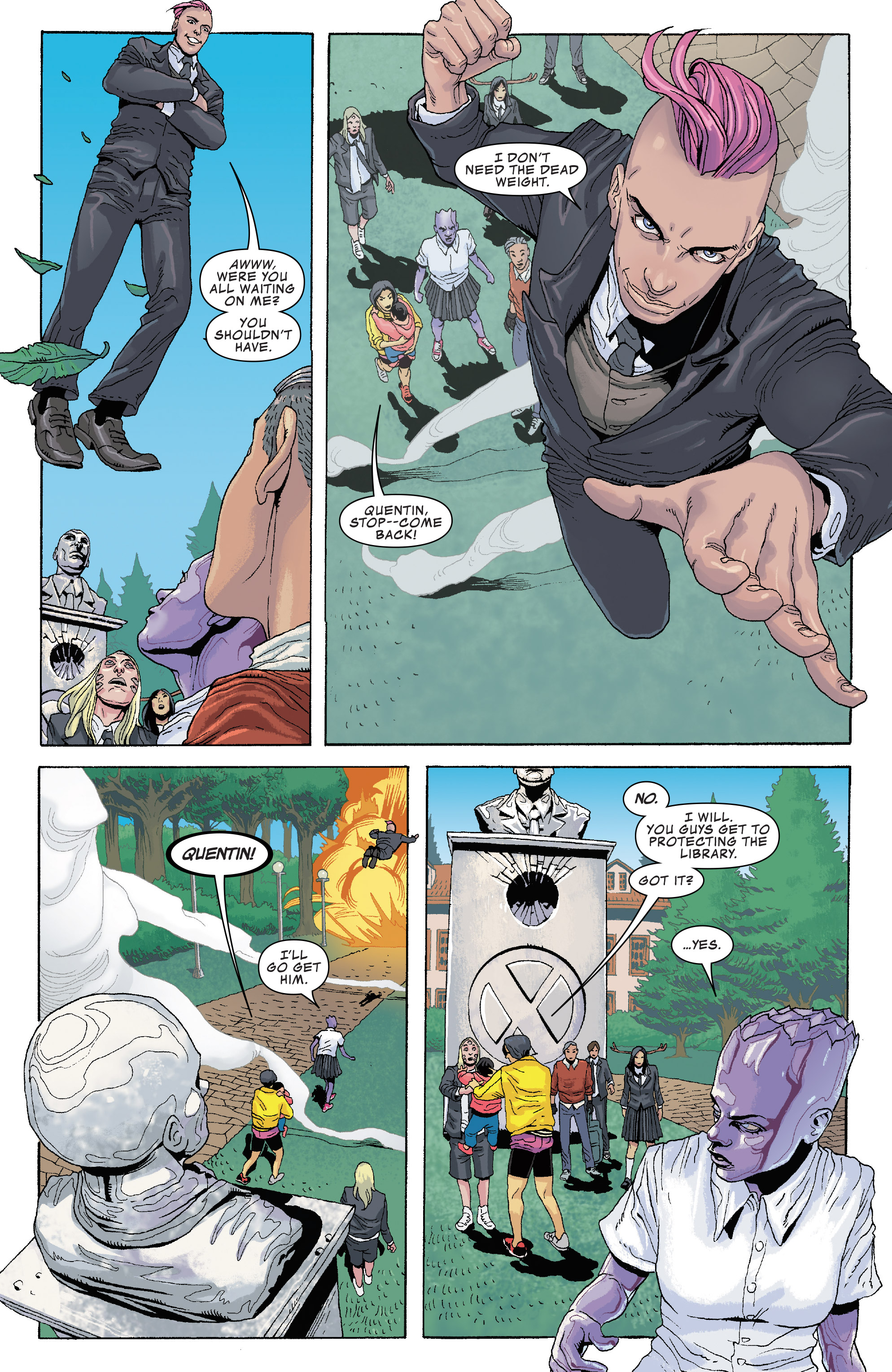 Read online Generation X (2017) comic -  Issue #2 - 7