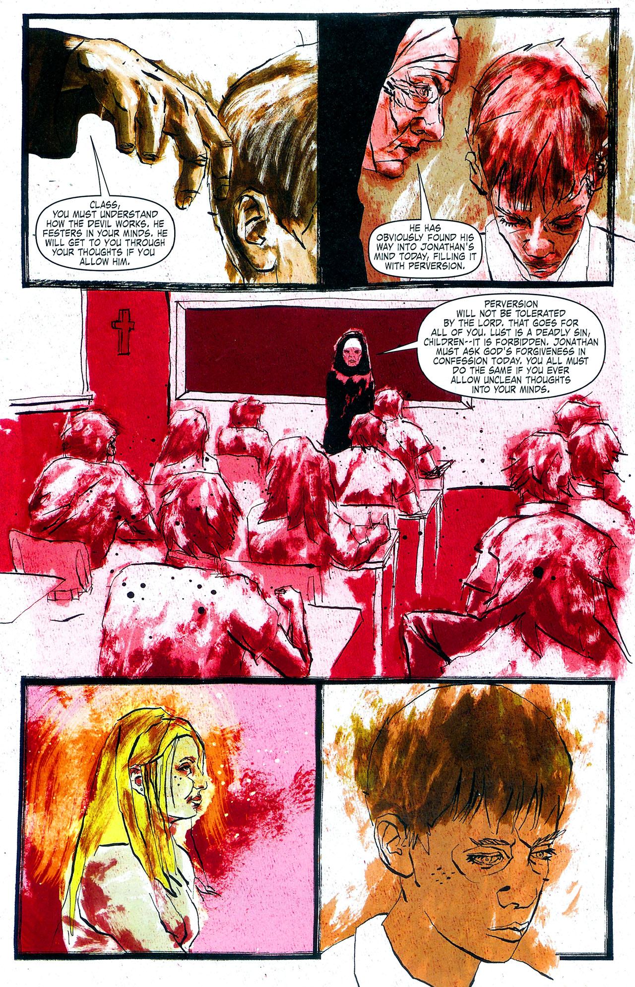 Read online Se7en comic -  Issue #4 - 8
