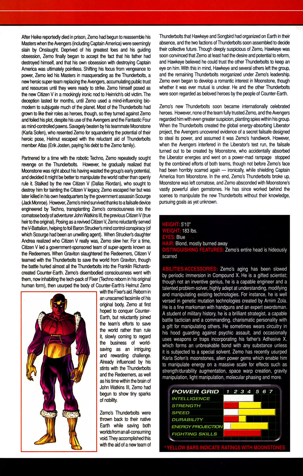 Read online All-New Official Handbook of the Marvel Universe A to Z comic -  Issue #1 - 64