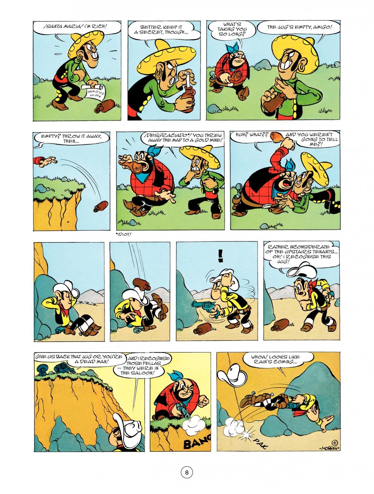 Read online A Lucky Luke Adventure comic -  Issue #48 - 8