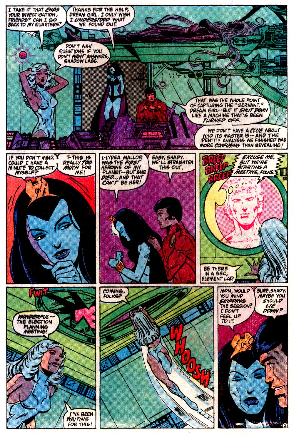 Legion of Super-Heroes (1980) 291 Page 2