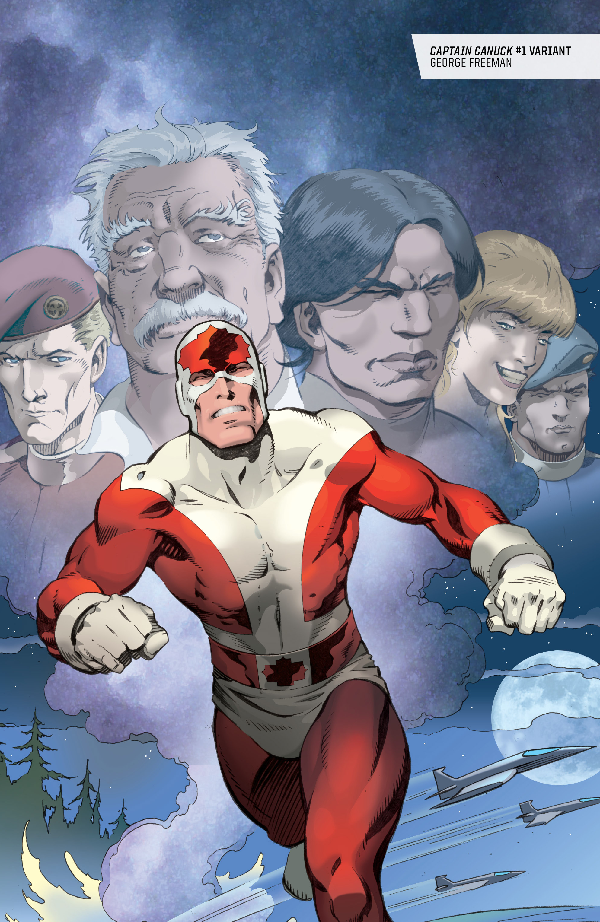 Read online All-New Classic Captain Canuck comic -  Issue #0 - 47