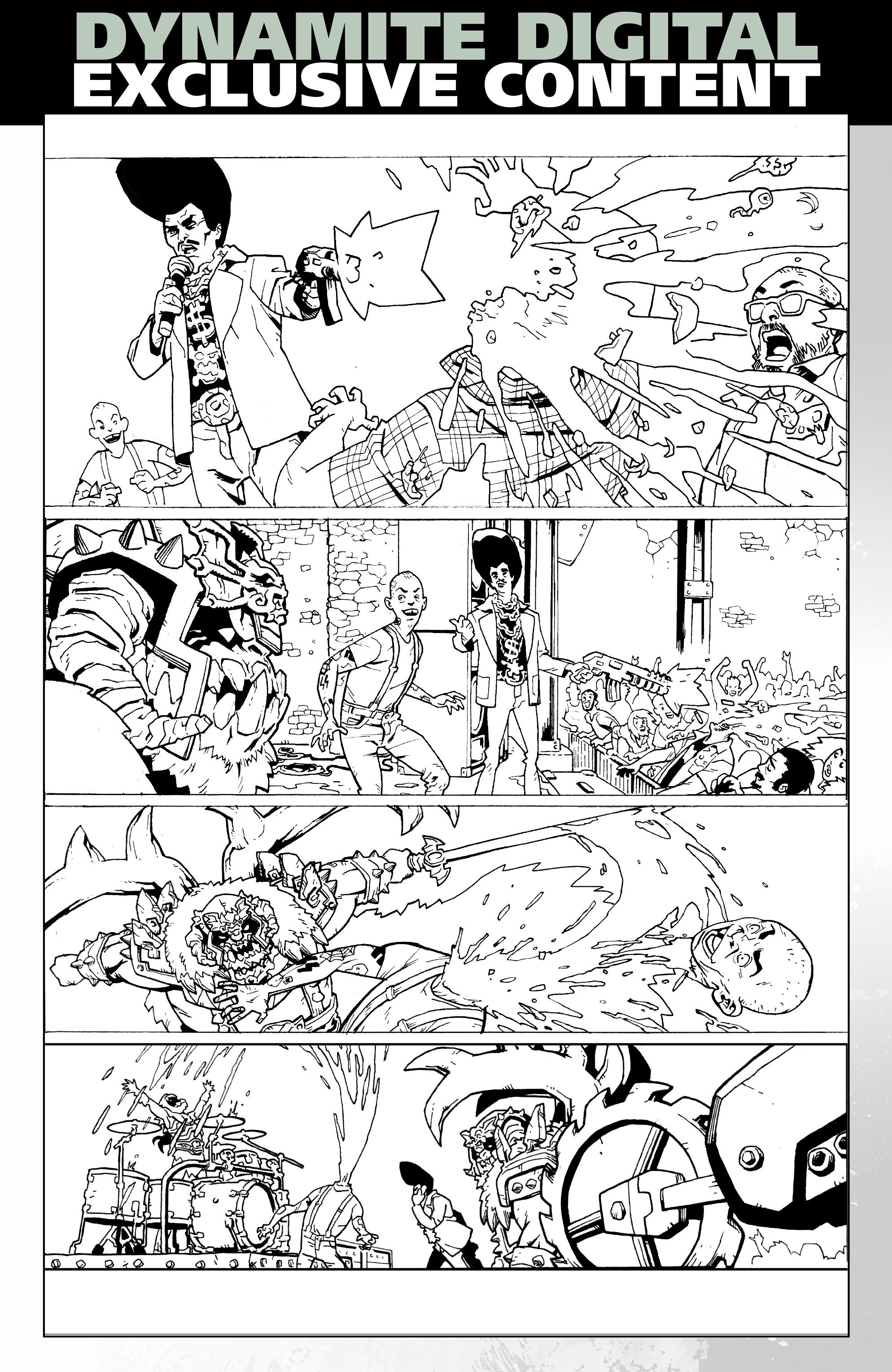 Read online Gwar: Orgasmageddon comic -  Issue #1 - 30