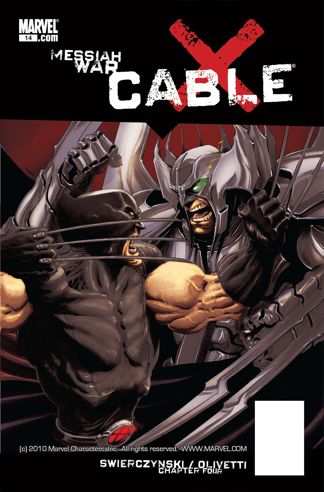 Read online X-Force/Cable: Messiah War comic -  Issue # _TPB (Part 2) - 41