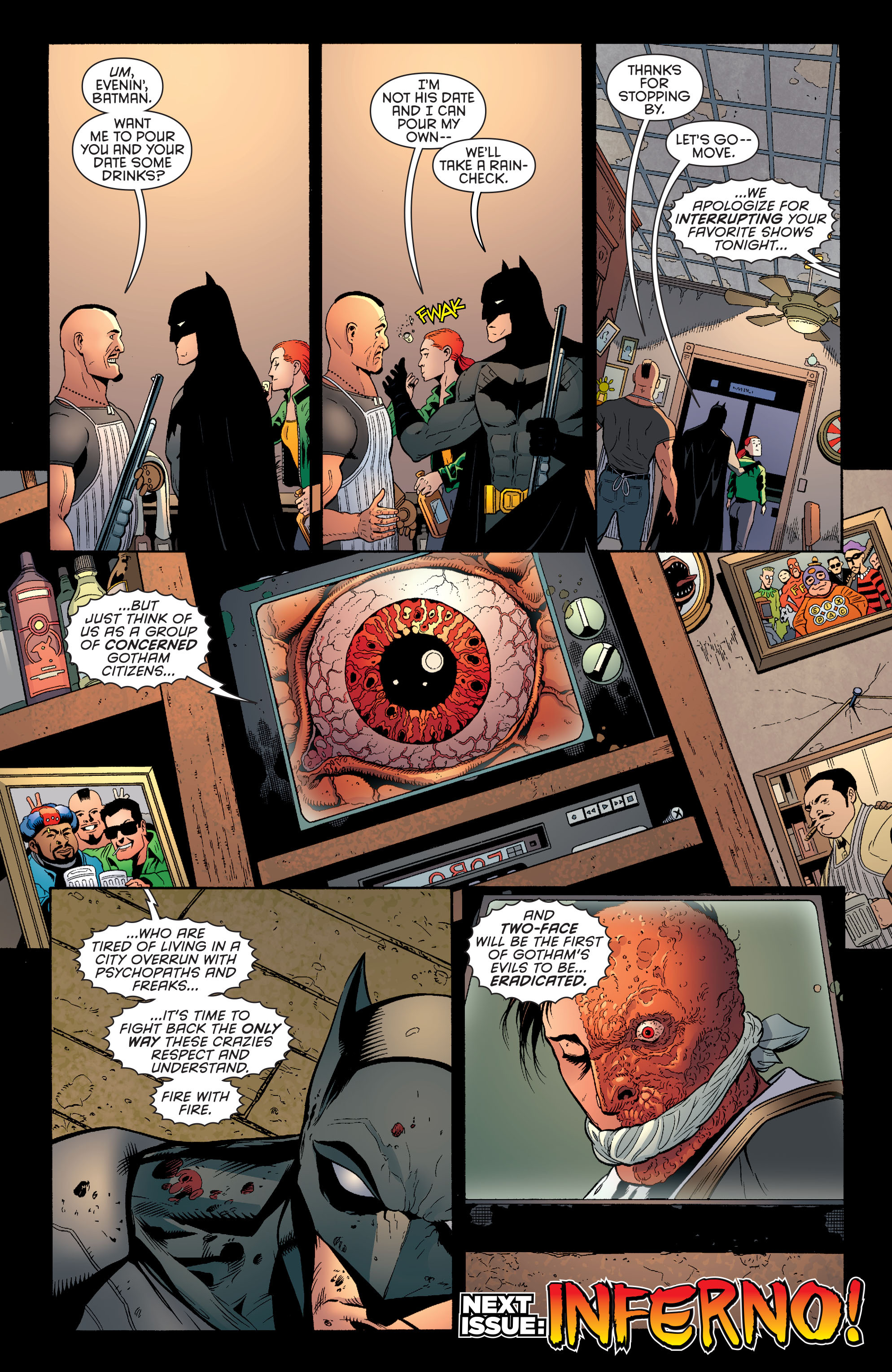 Read online Batman and Robin (2011) comic -  Issue #27 - Batman and Two-Face - 20